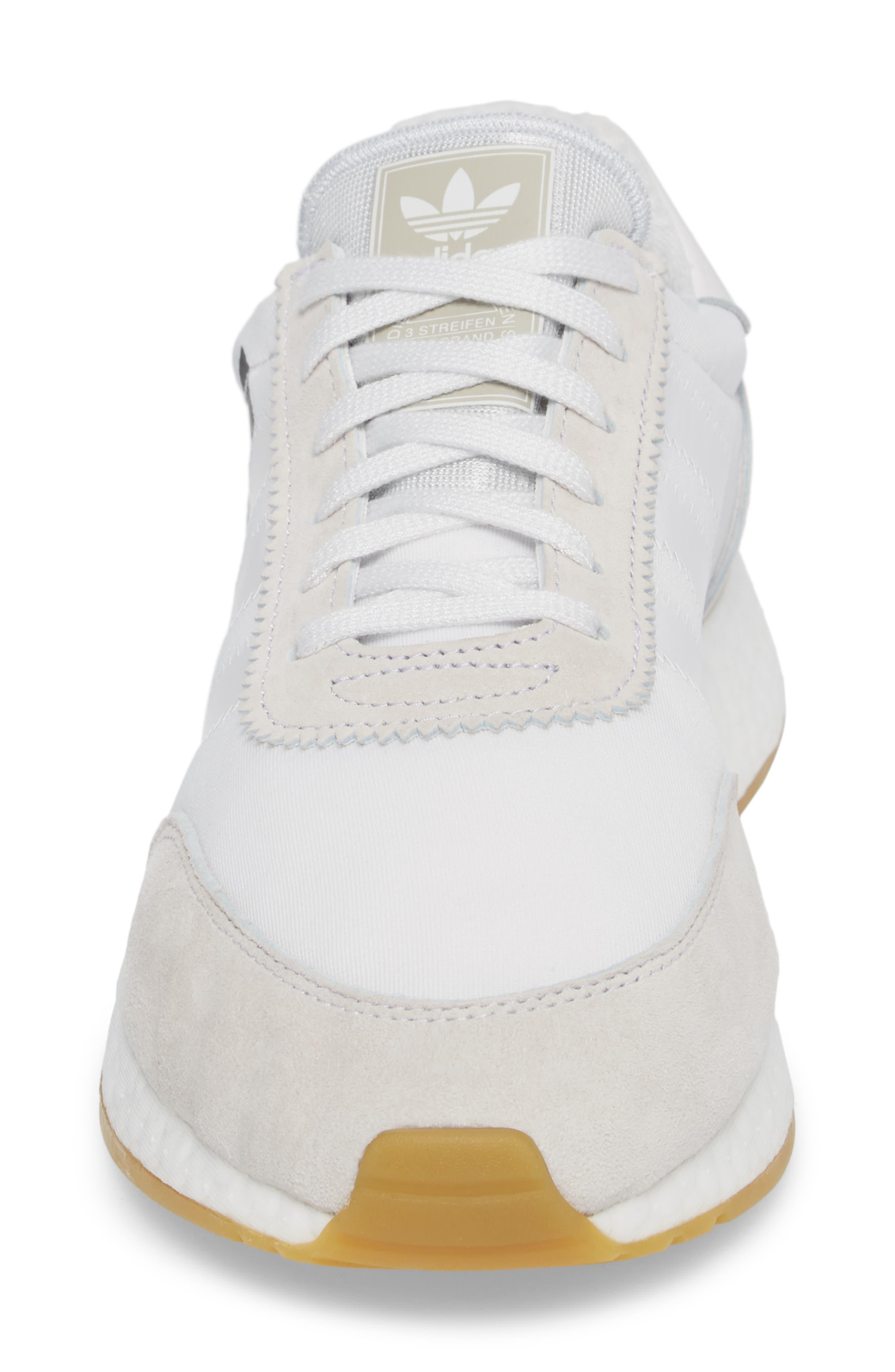 I-5923 Sneaker,                             Alternate thumbnail 4, color,                             Crystal White/ White