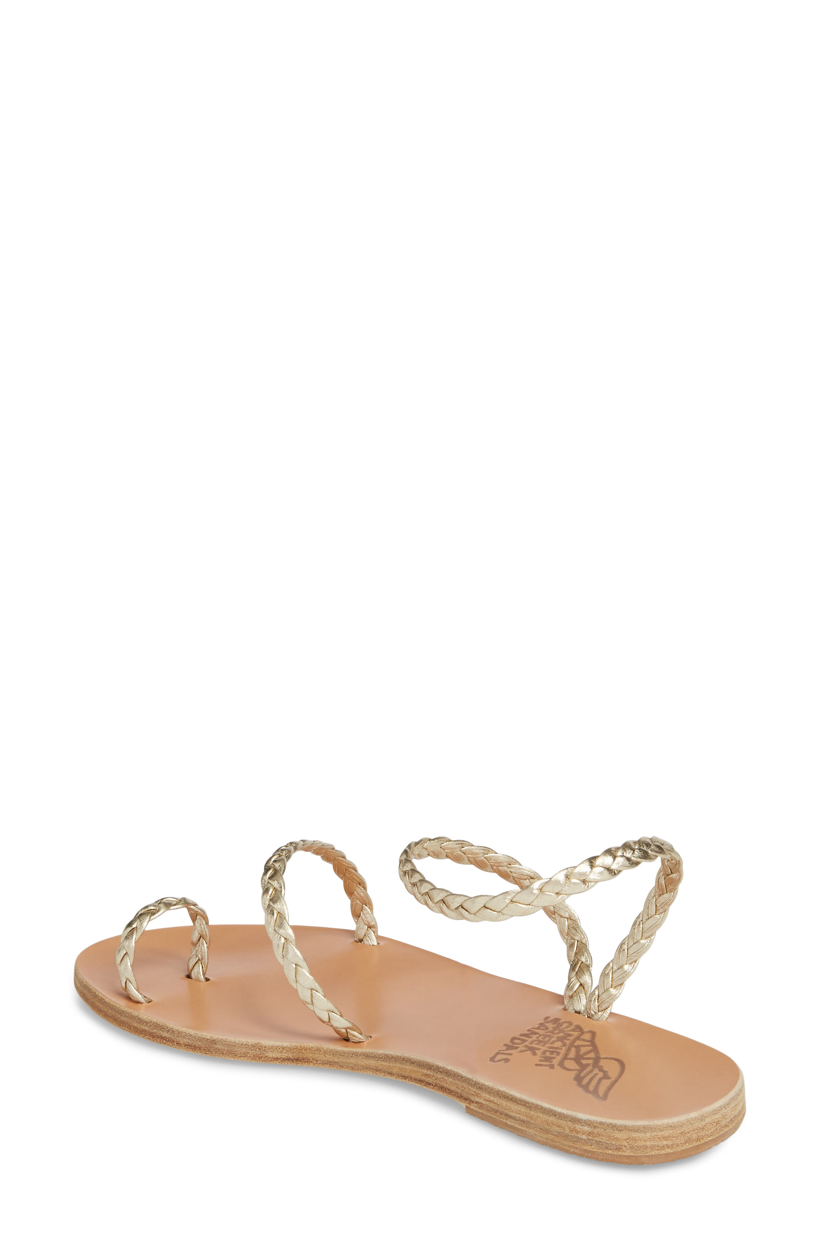 Eleftheria Sandal,                             Alternate thumbnail 2, color,                             Platinum