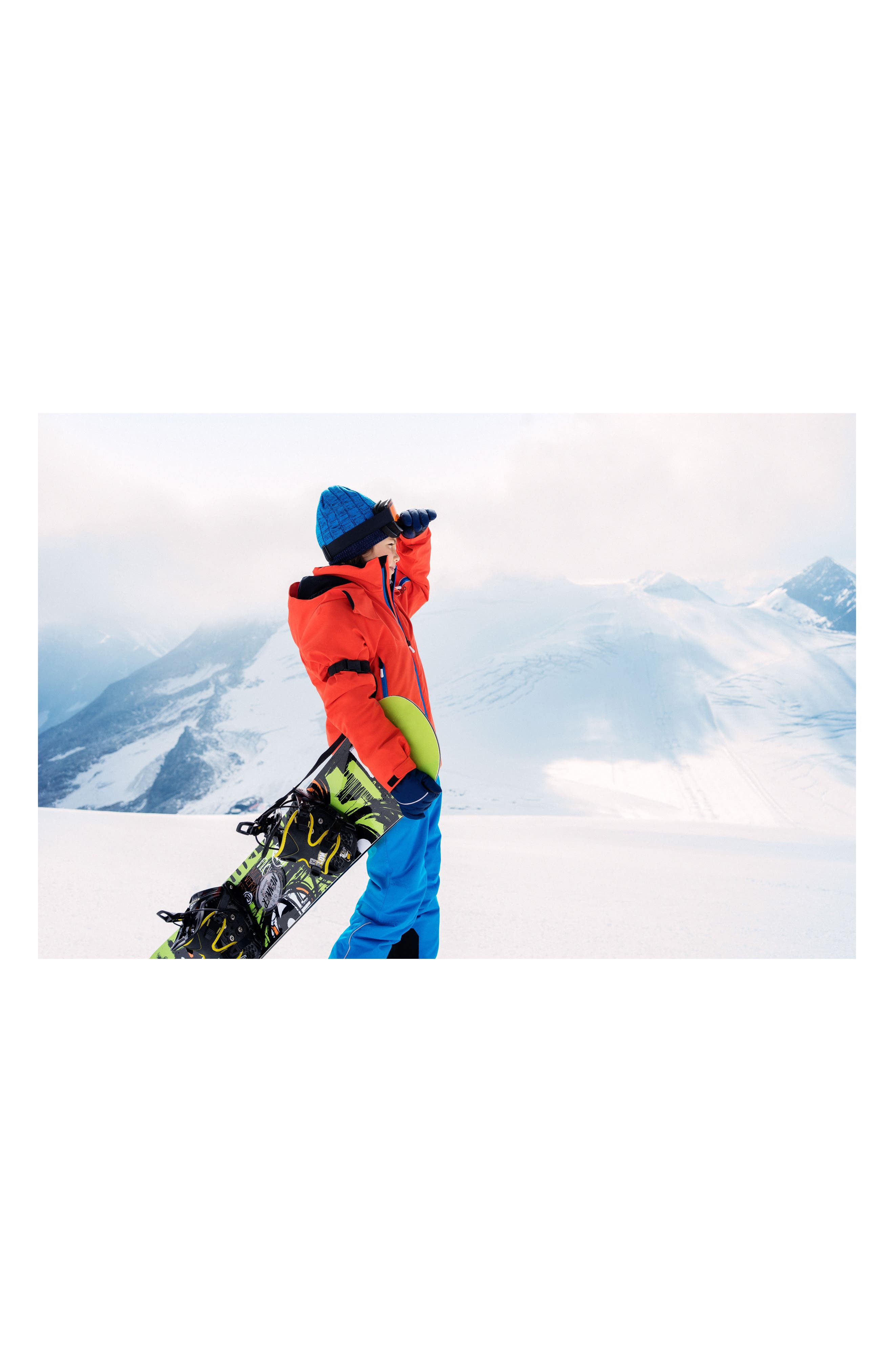 Reimatec<sup>®</sup> Takeoff Waterproof Insulated Snow Pants,                             Alternate thumbnail 4, color,                             Blue