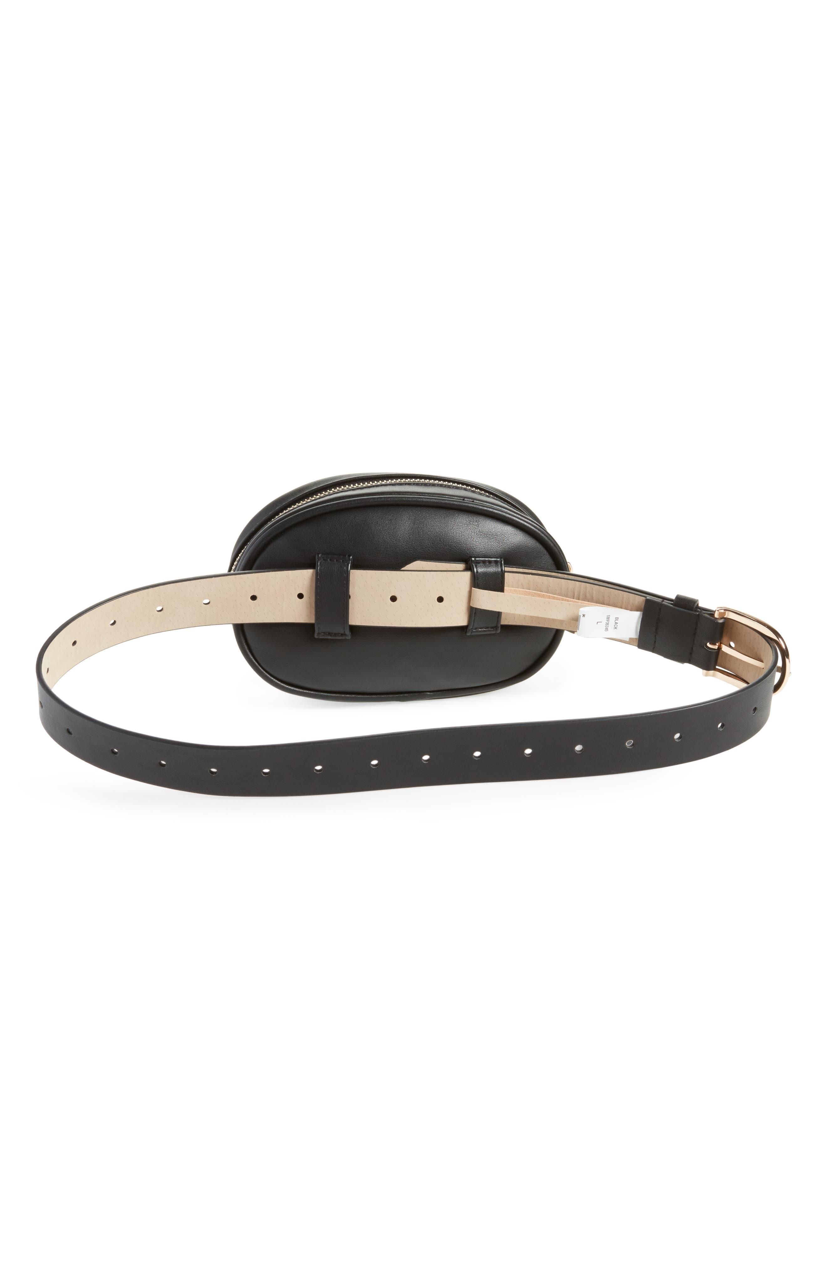 Alternate Image 3  - Steve Madden Quilted Belt Bag