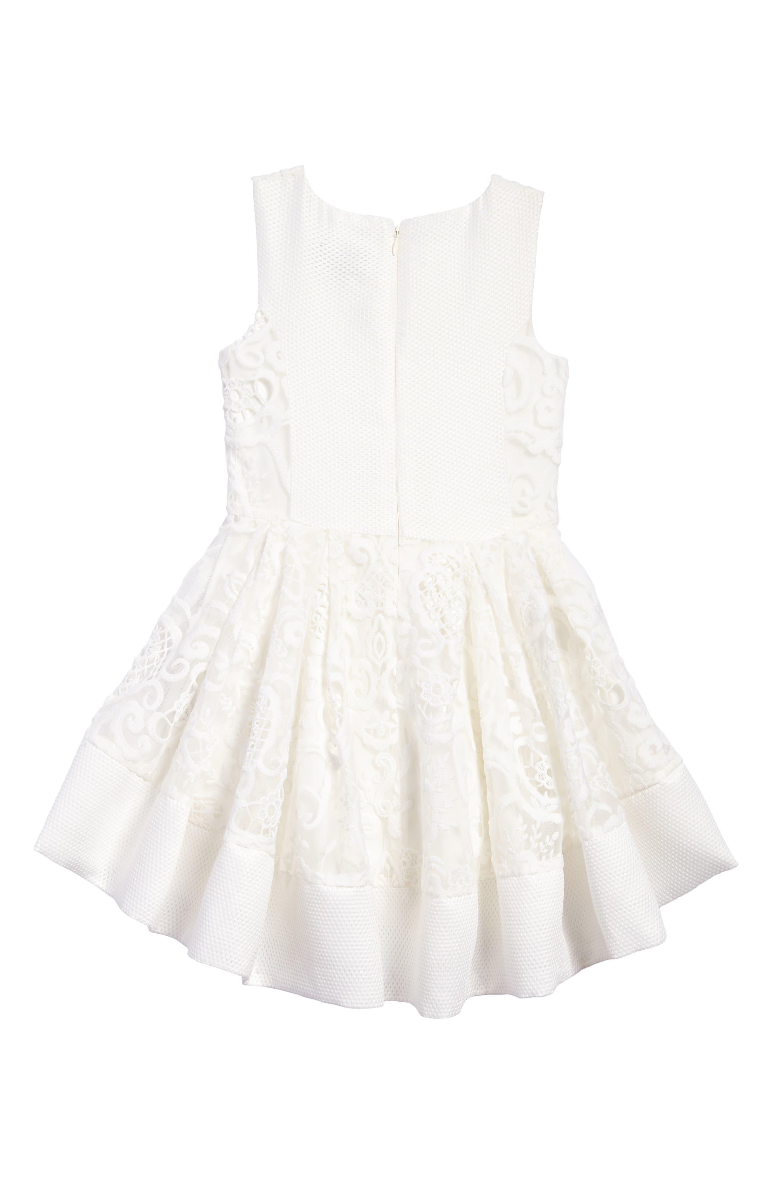 Ava Starlet Dress,                             Alternate thumbnail 2, color,                             Ivory