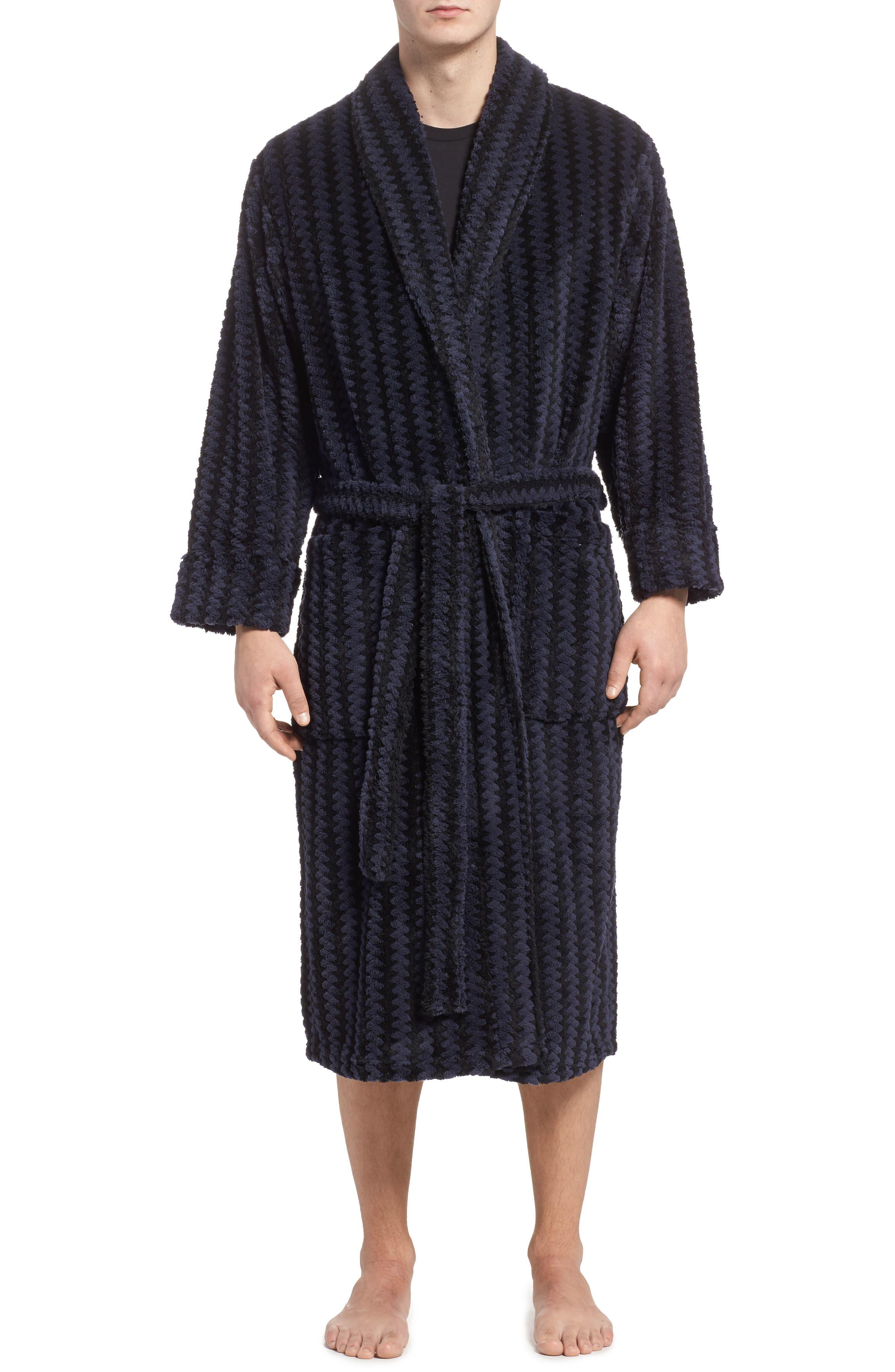 Daniel Buchler Checker Stripe Robe
