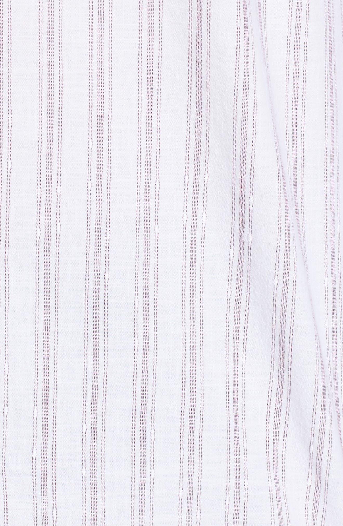 John T Slim Fit Sport Shirt,                             Alternate thumbnail 5, color,                             Blue/ Nat