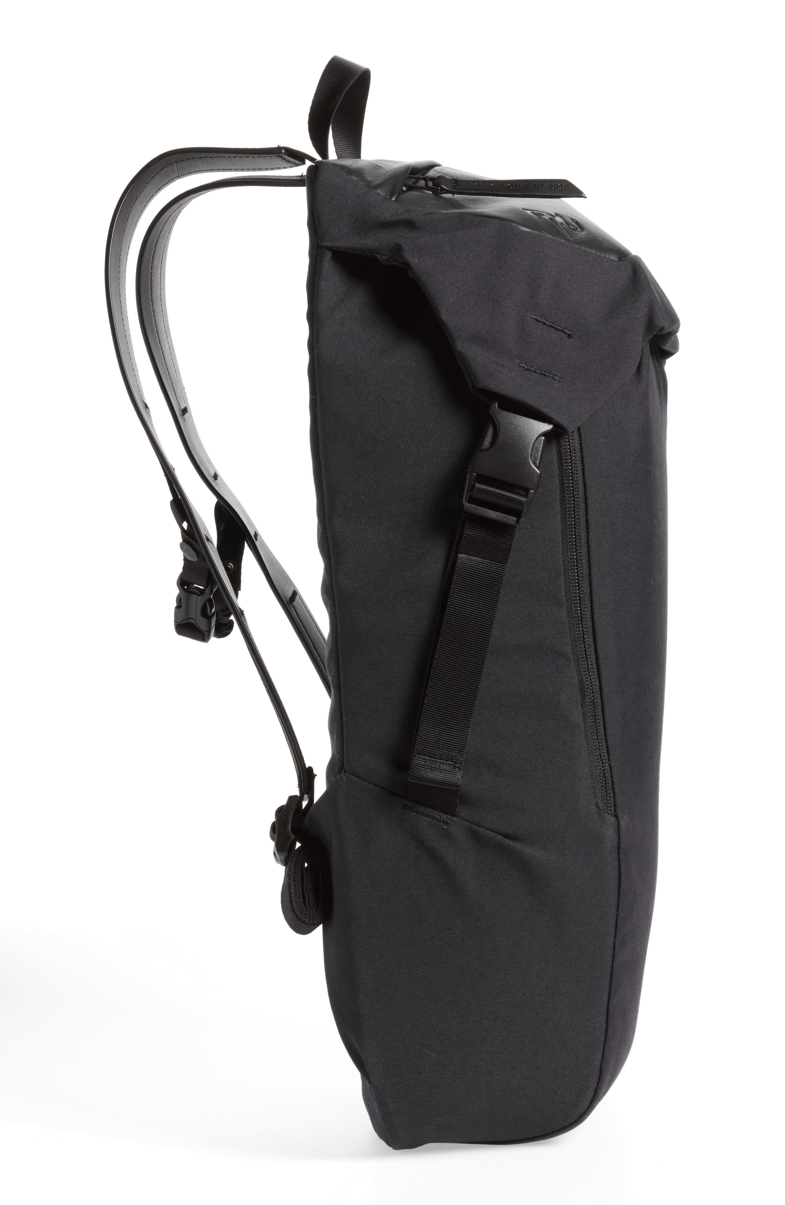 Quick Pack Lux Backpack,                             Alternate thumbnail 5, color,                             Black