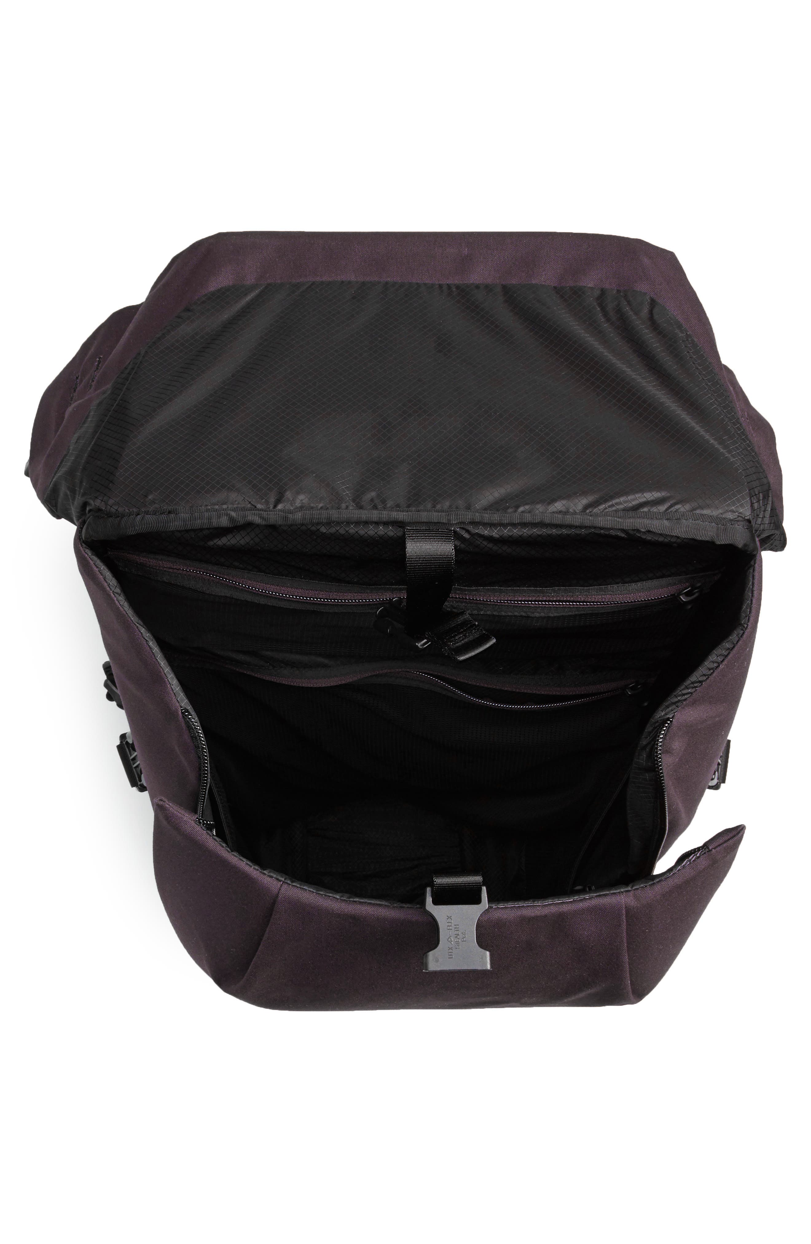 Locker Pack Lux Backpack,                             Alternate thumbnail 4, color,                             Port