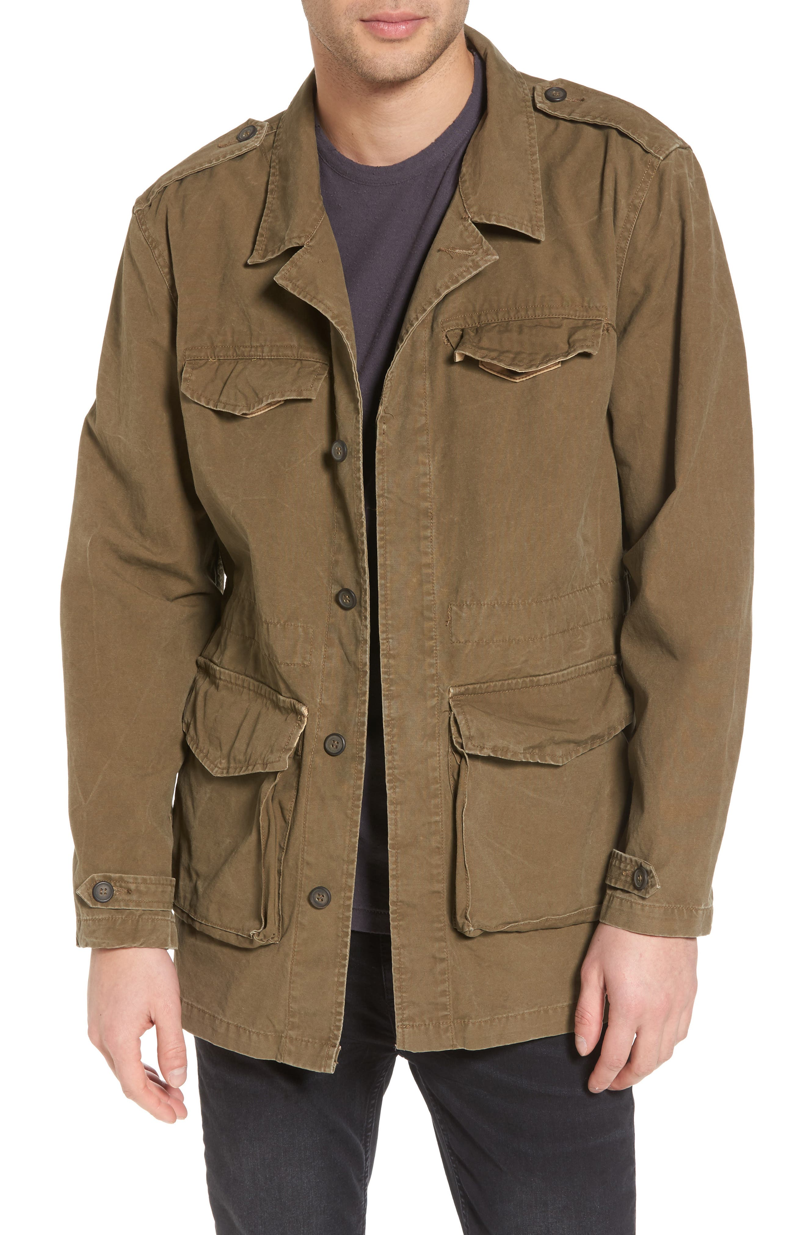 Field Jacket,                         Main,                         color, Army Green