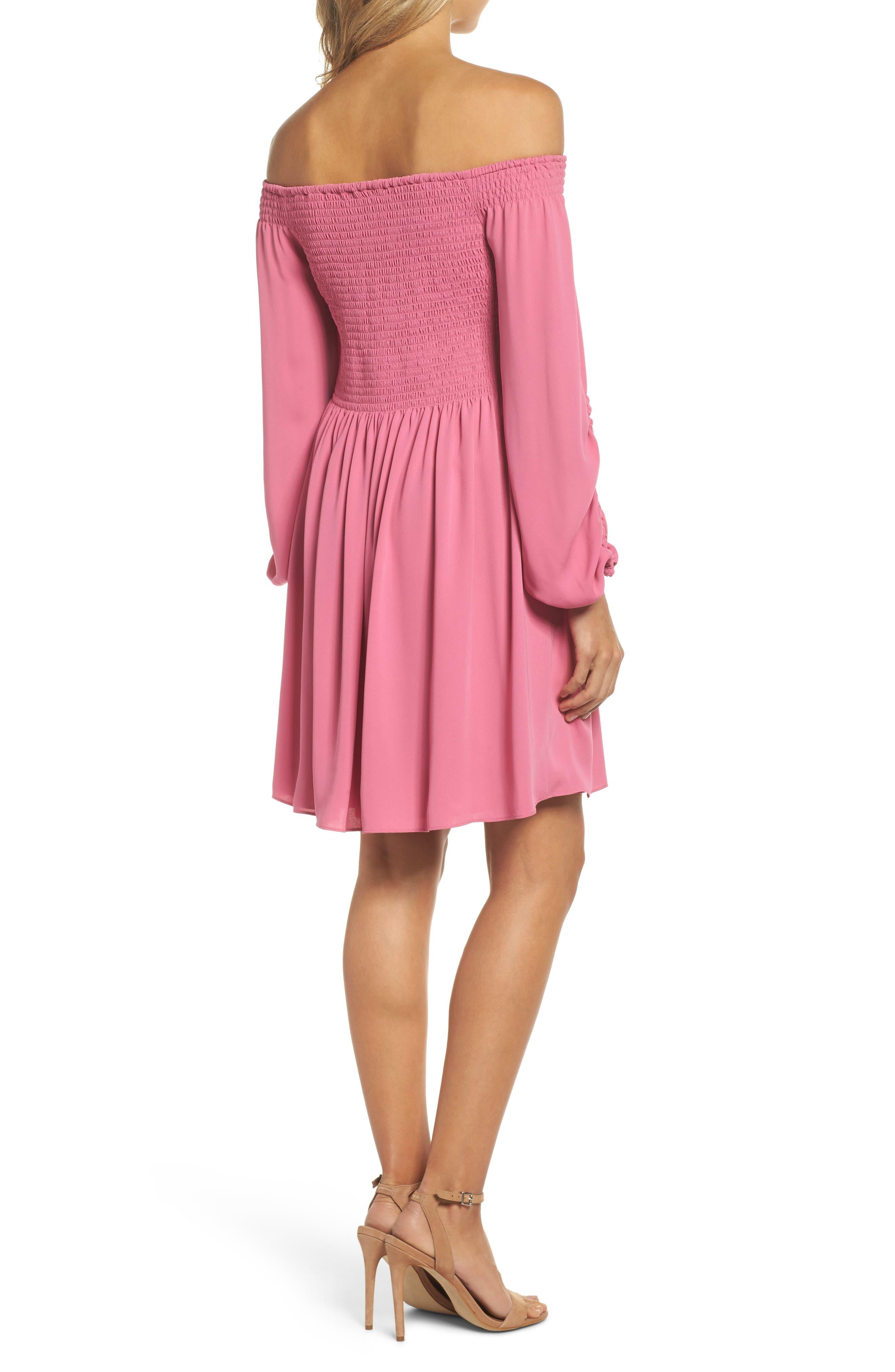 Alternate Image 2  - Kobi Halperin Nina Off the Shoulder Dress (Nordstrom Exclusive)