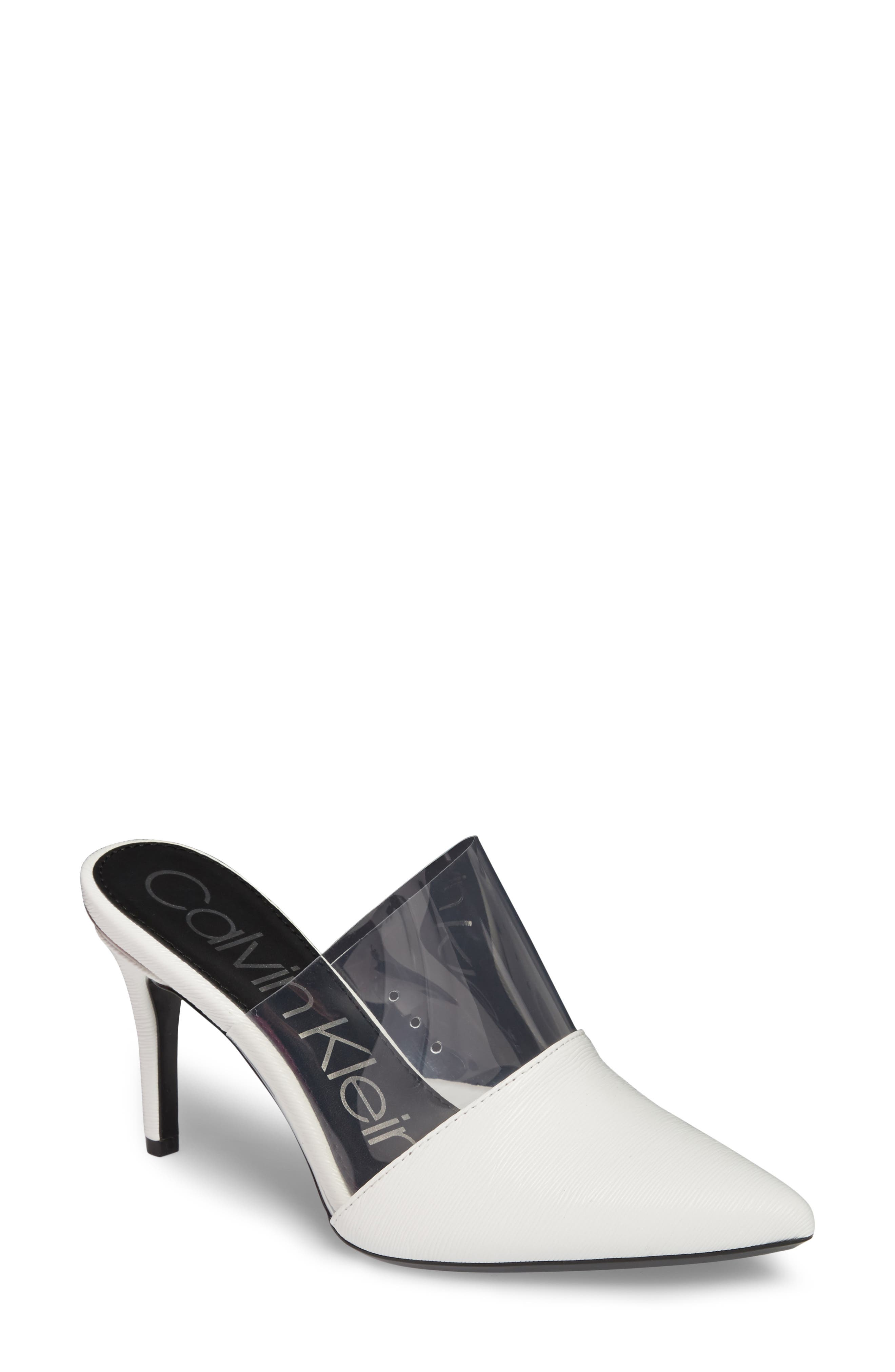 Calvin Klein Graycie Pointy Toe Mule (Women)