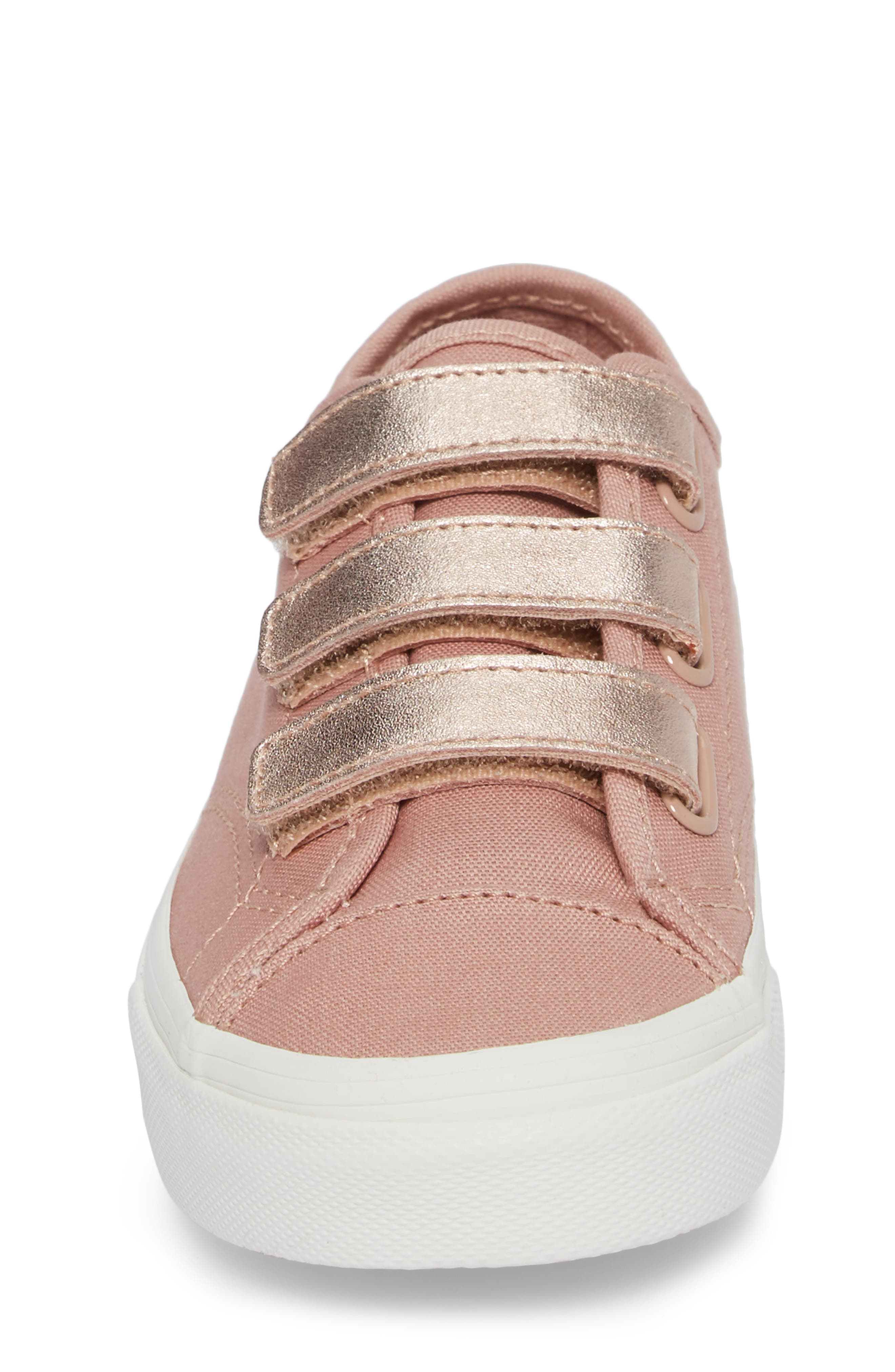 Style 23V Sneaker,                             Alternate thumbnail 4, color,                             Two-Tone Rose Gold Metallic