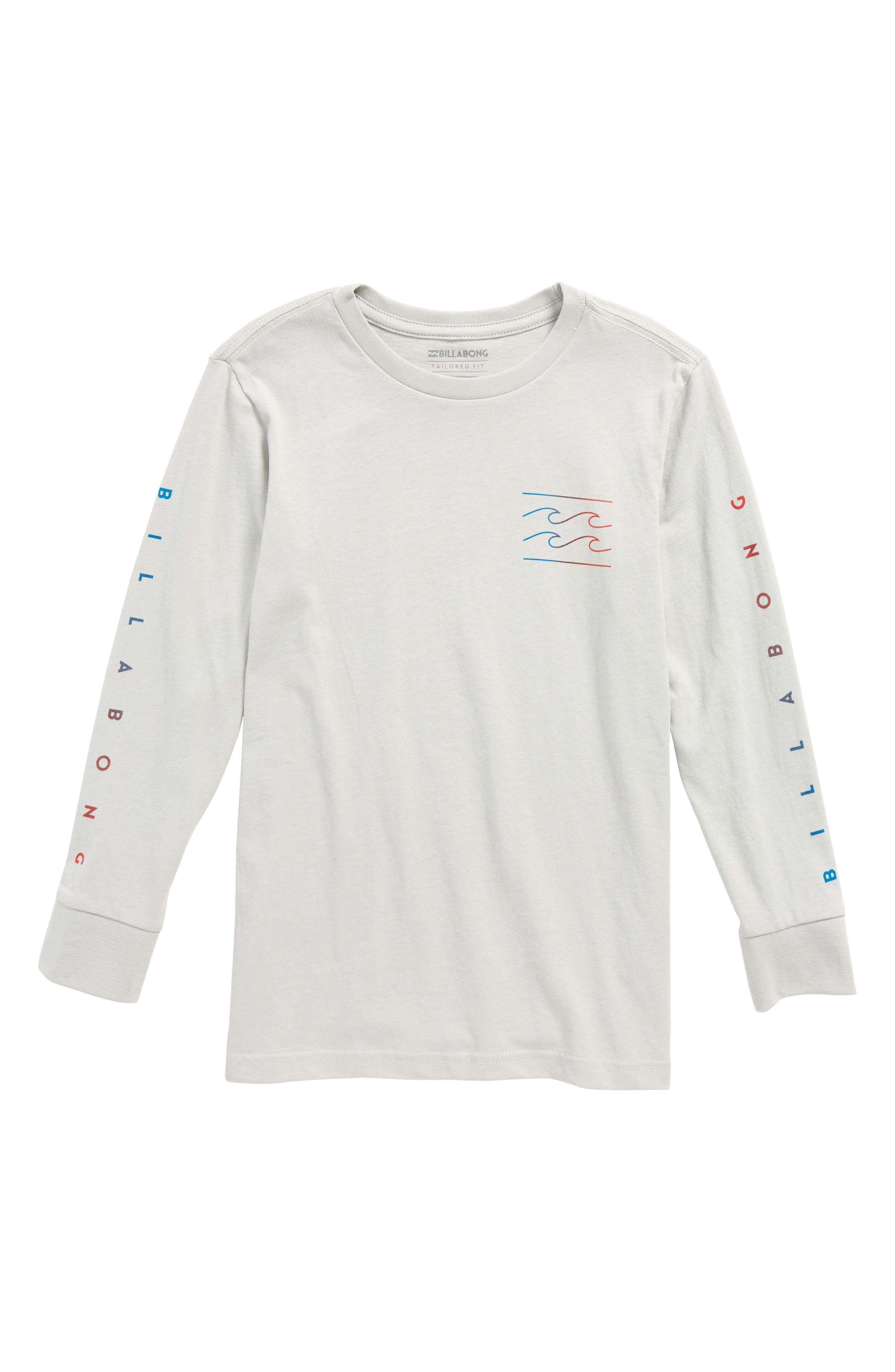 Main Image - Billabong Unity Graphic Long Sleeve T-Shirt (Toddler Boys & Little Boys)