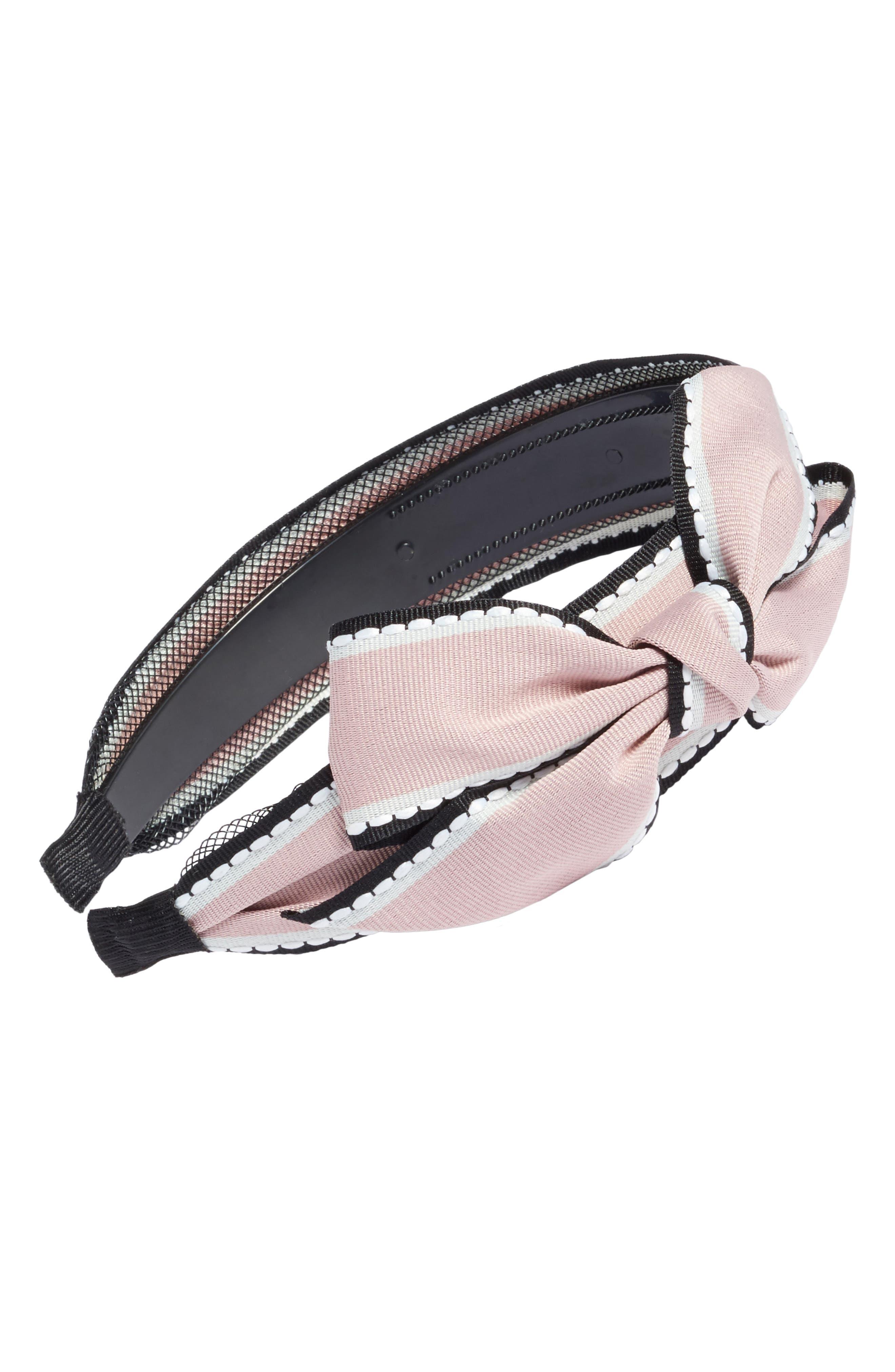 Cara Big Bow Stripe Headband