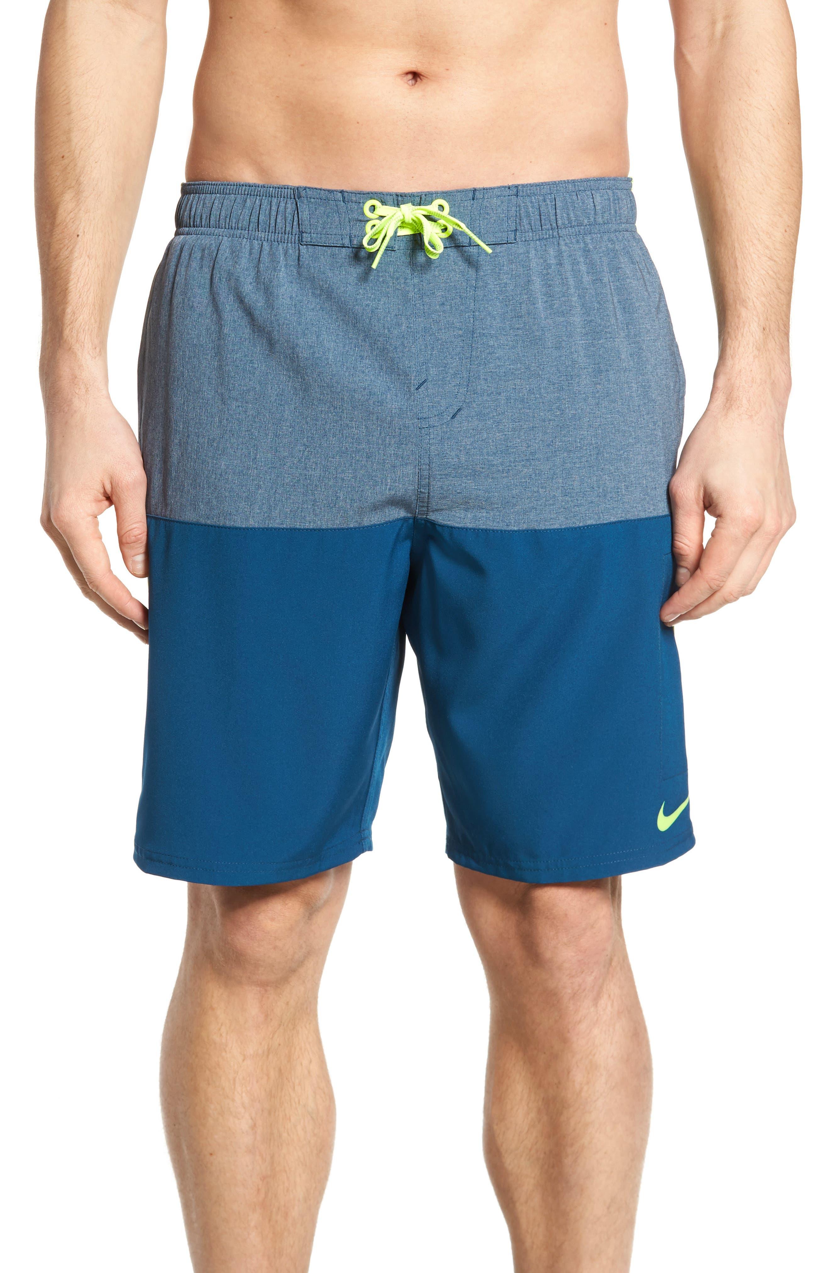 Split Board Shorts,                             Main thumbnail 1, color,                             Blue Force