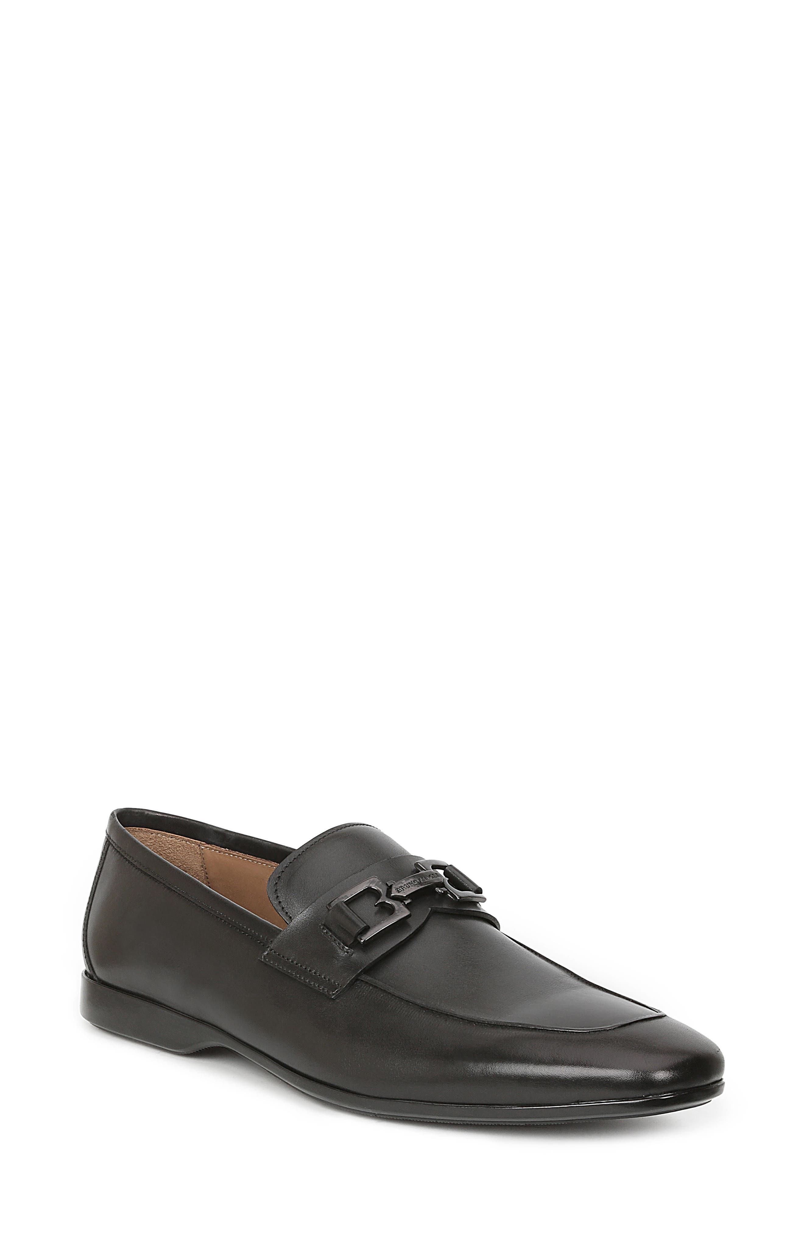 Morolo Bit Loafer,                         Main,                         color, Black