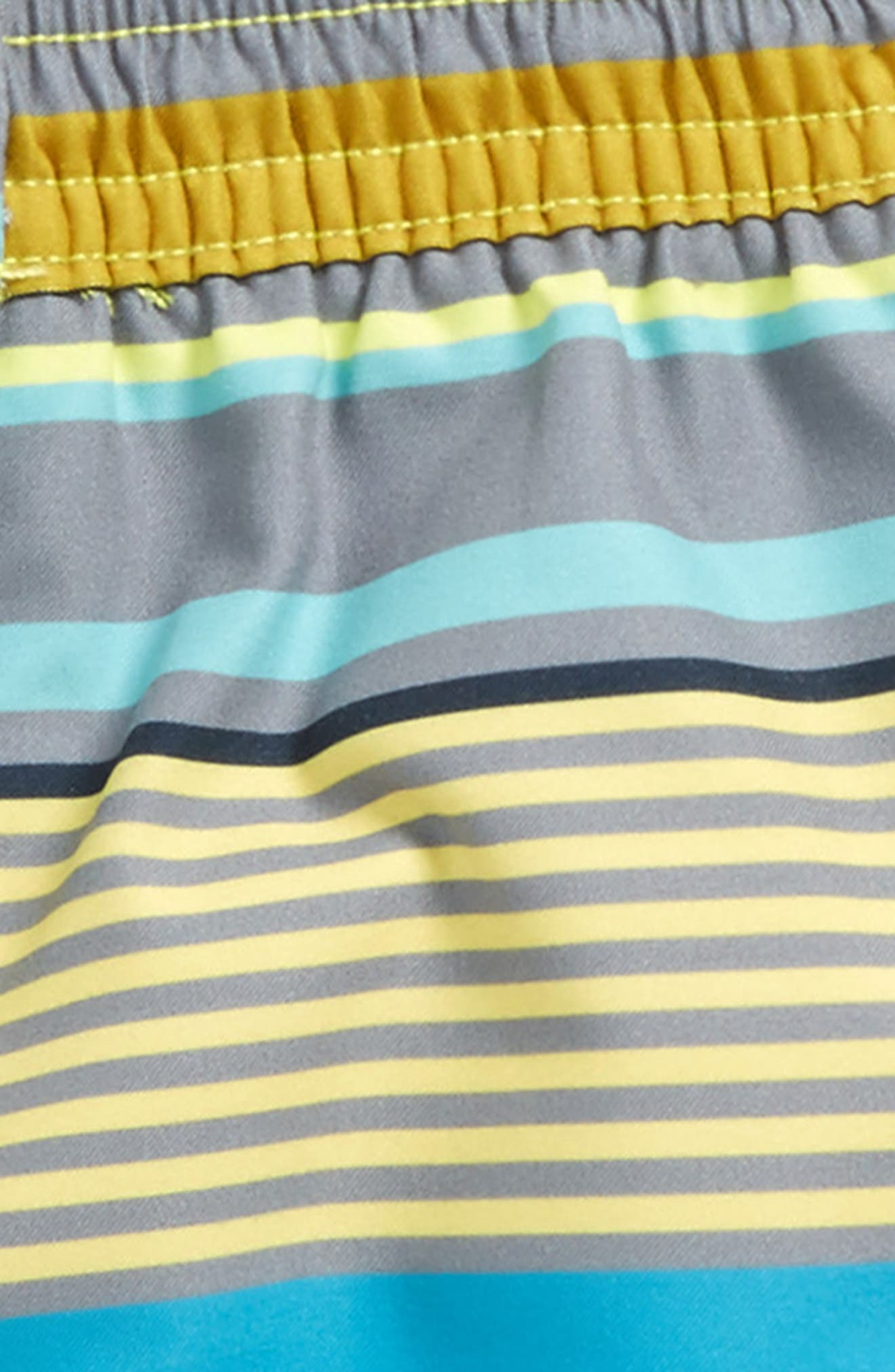 Alternate Image 2  - Tea Collection Dawn Patrol Swim Trunks (Baby Boys)