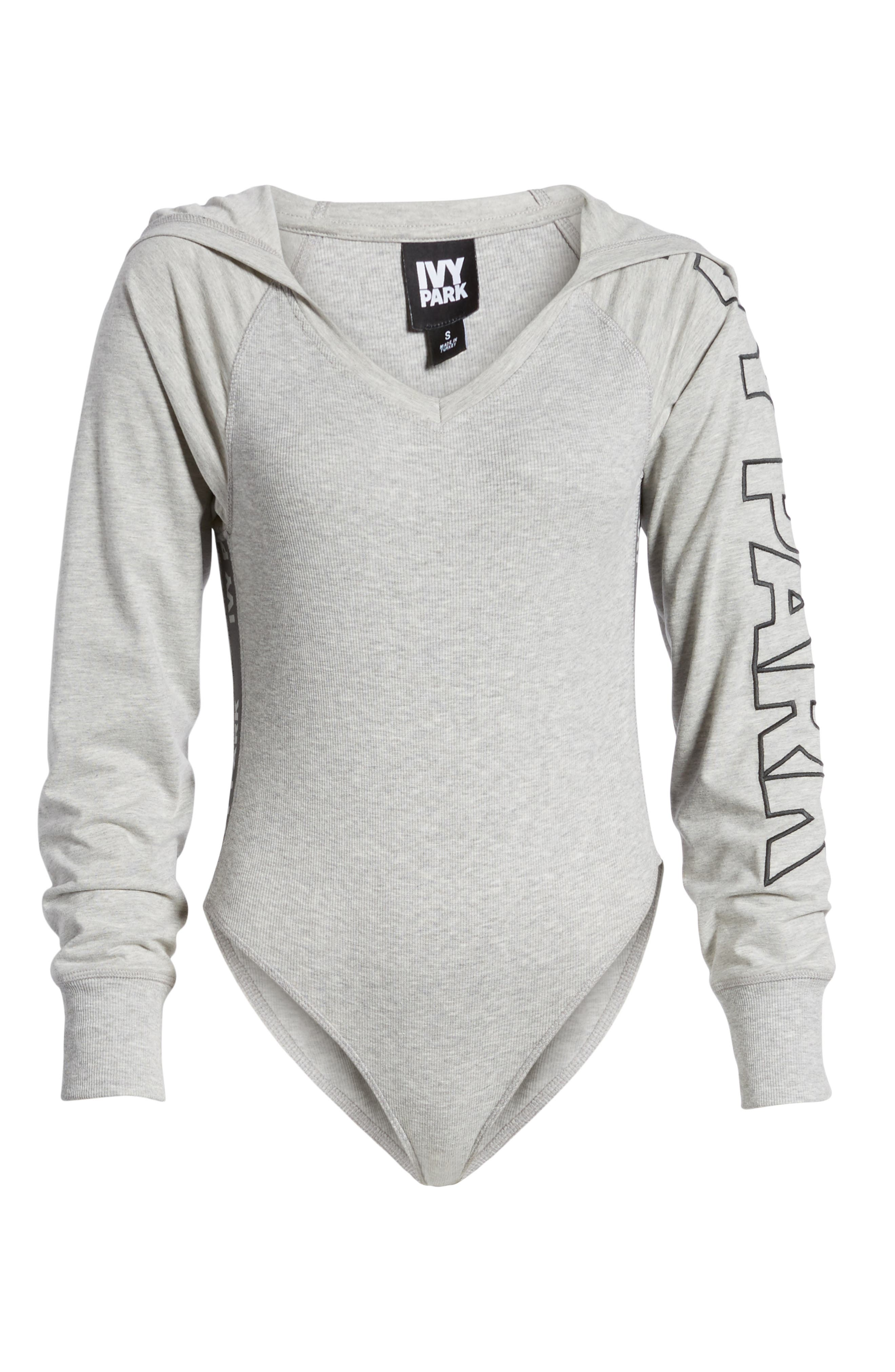 Main Image - IVY PARK® Hooded Bodysuit