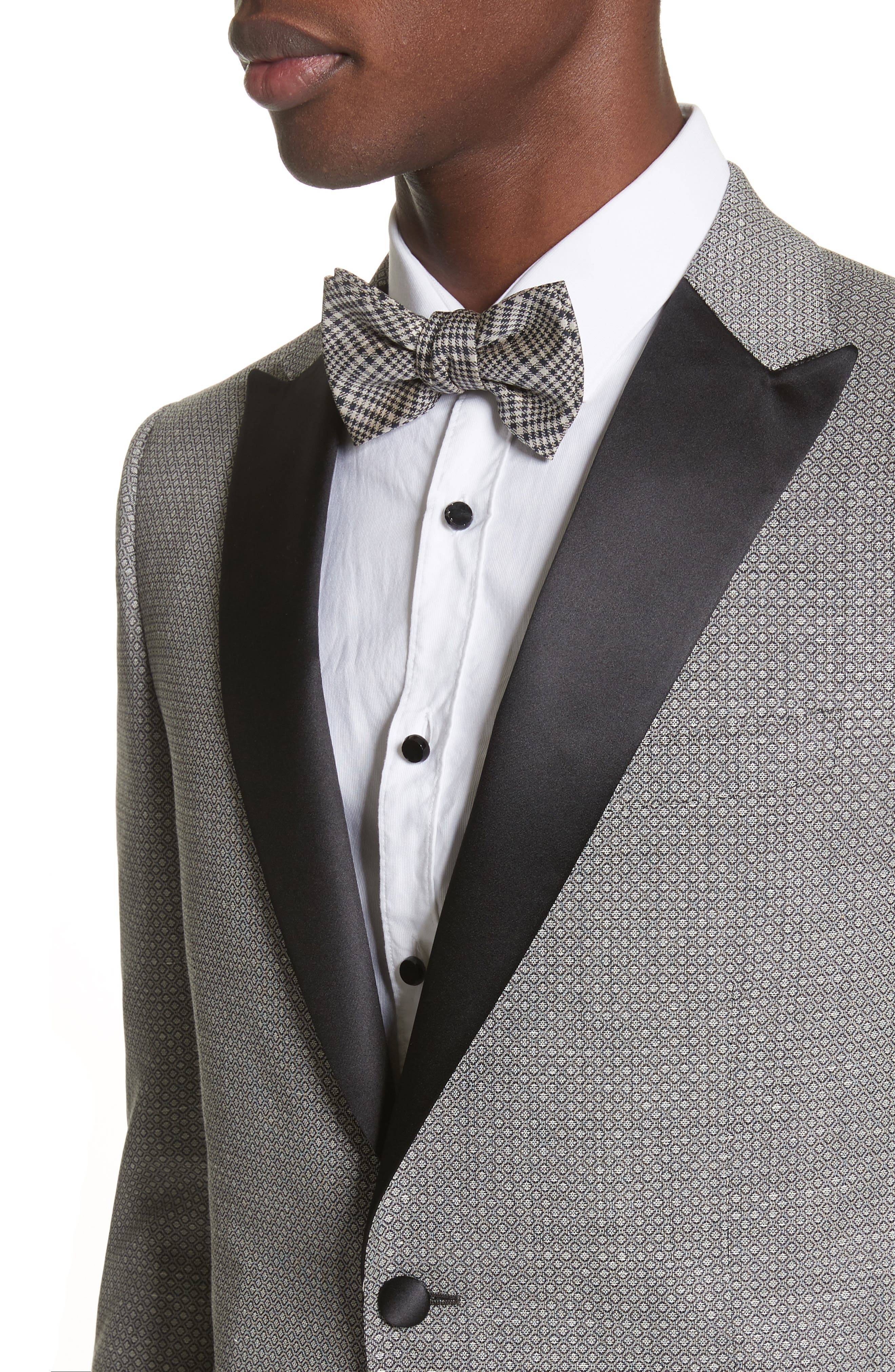Alternate Image 4  - Z Zegna Classic Fit Stretch Wool & Linen Dinner Jacket