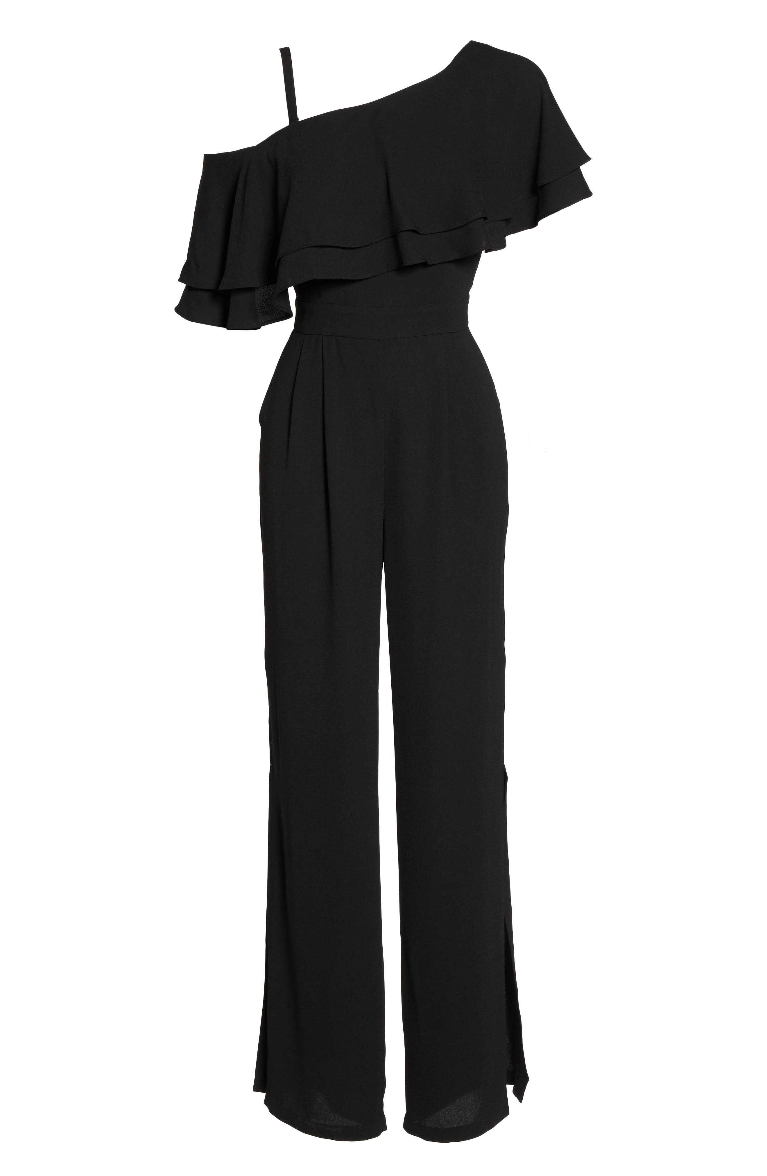 Alternate Image 6  - Vince Camuto Moss One-Shoulder Jumpsuit