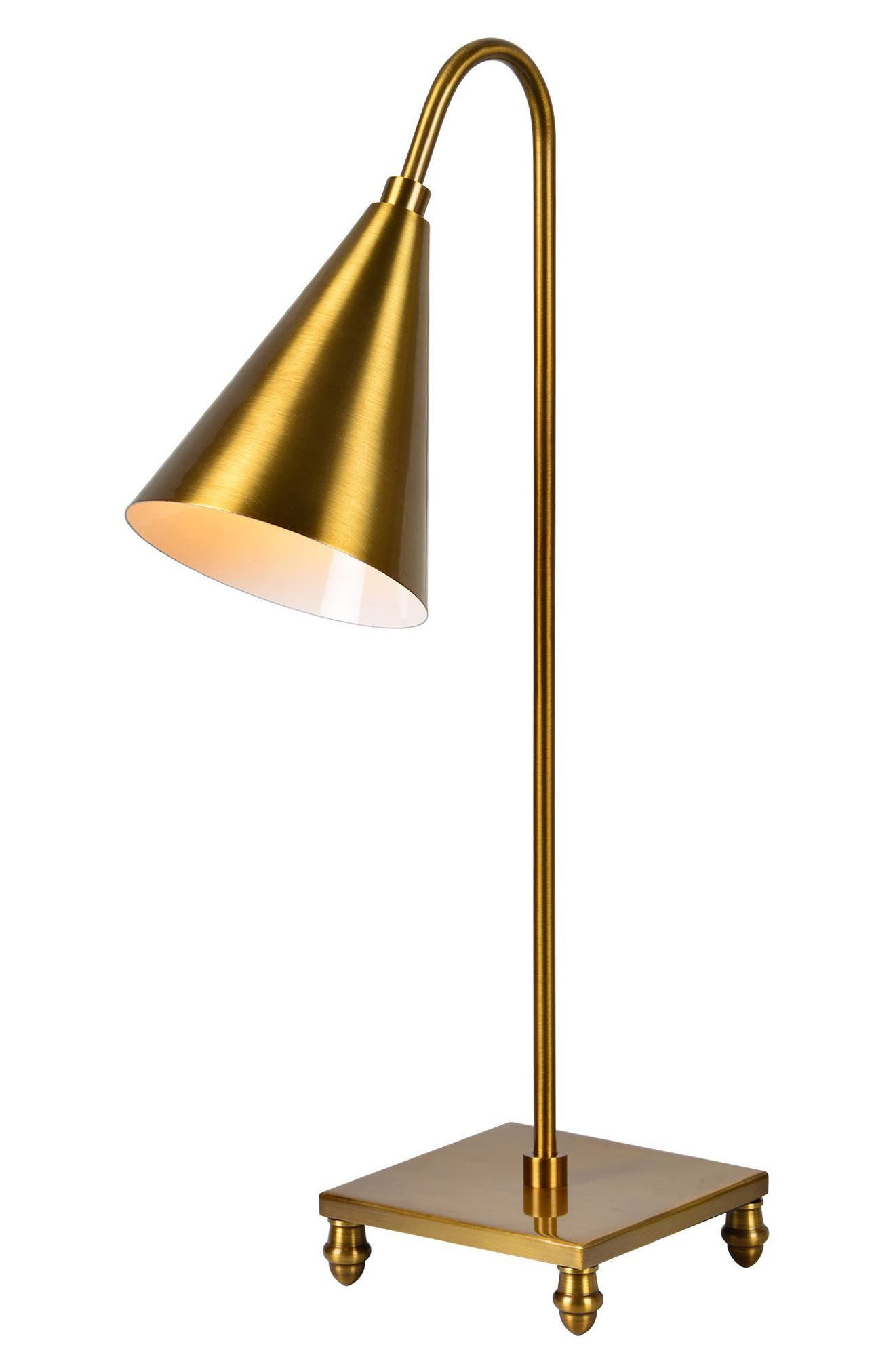 Dawn Table Lamp,                             Alternate thumbnail 4, color,                             Antique Gold