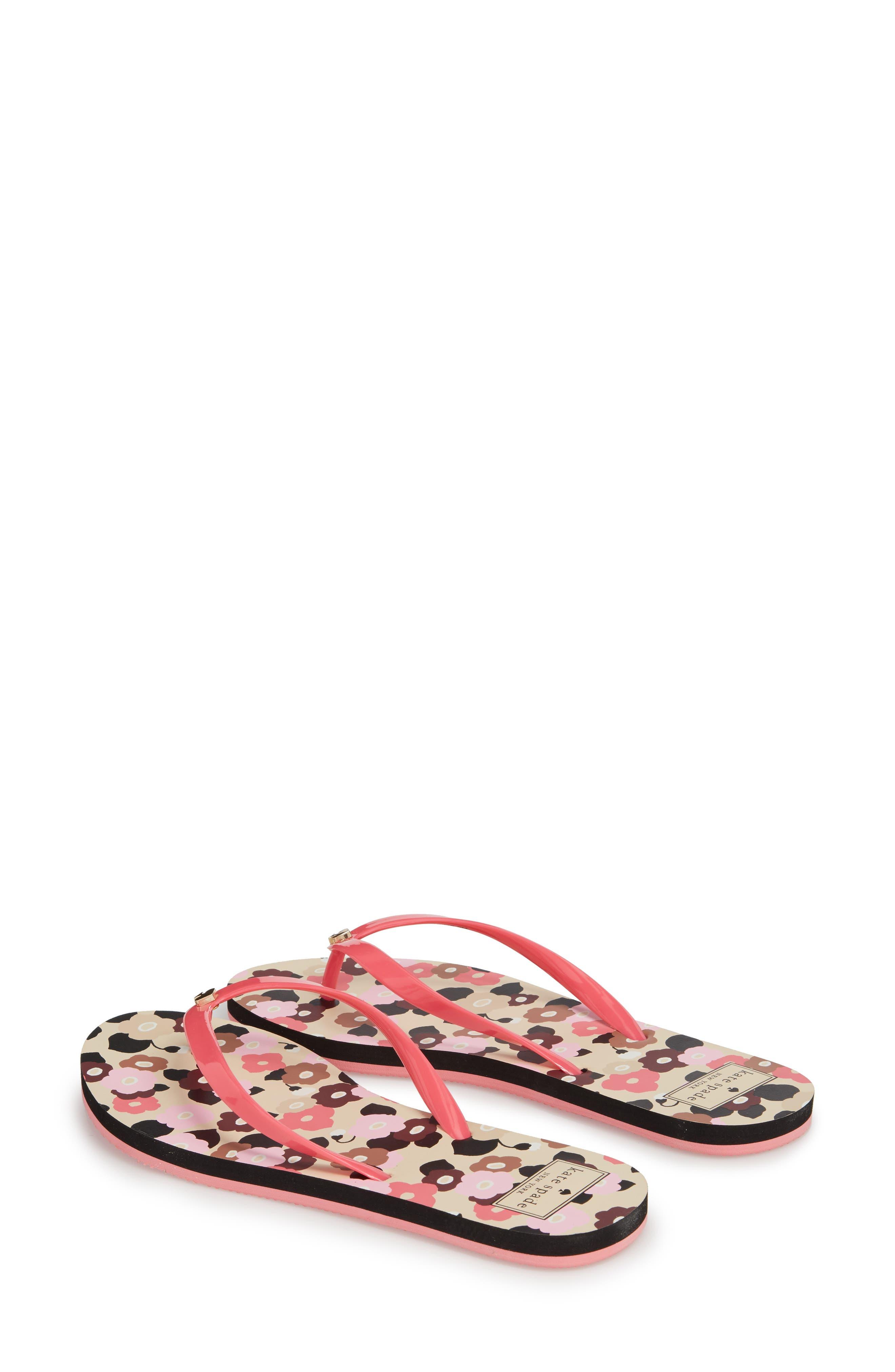 nassau flip flop,                             Alternate thumbnail 2, color,                             Petunia Pink