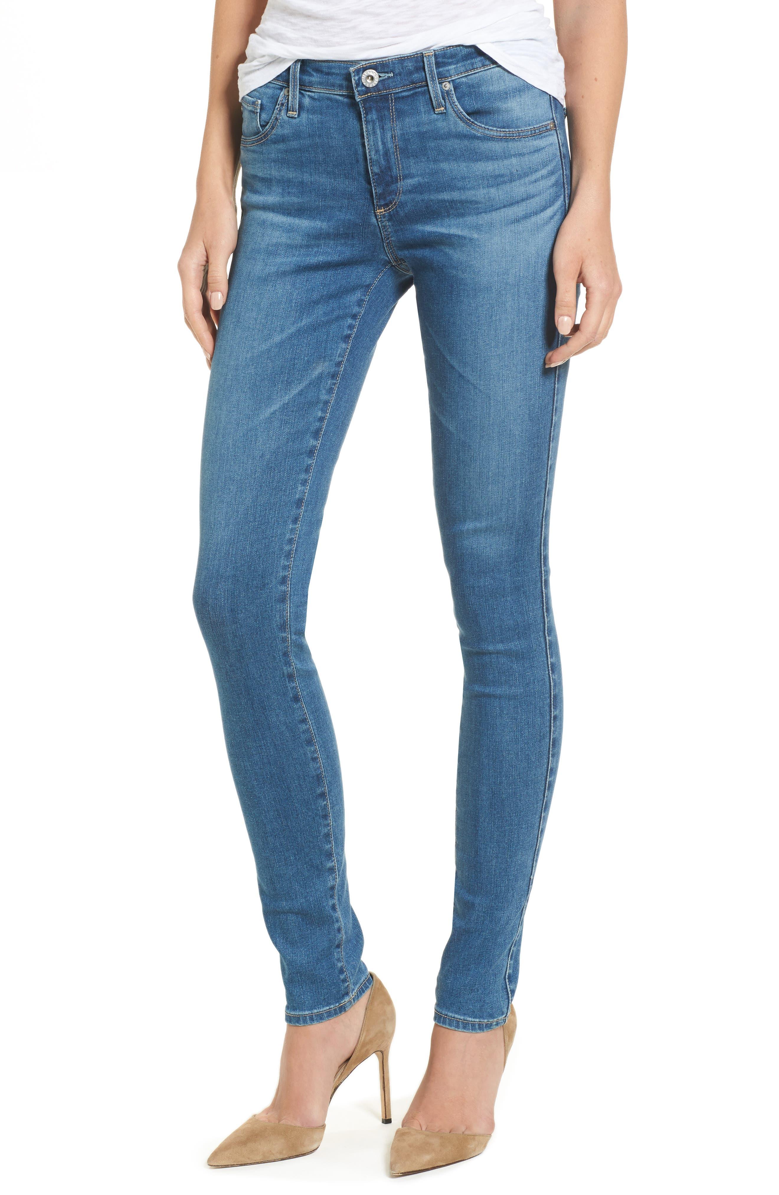 The Legging Super Skinny Jeans,                             Main thumbnail 1, color,                             Indigo Viking
