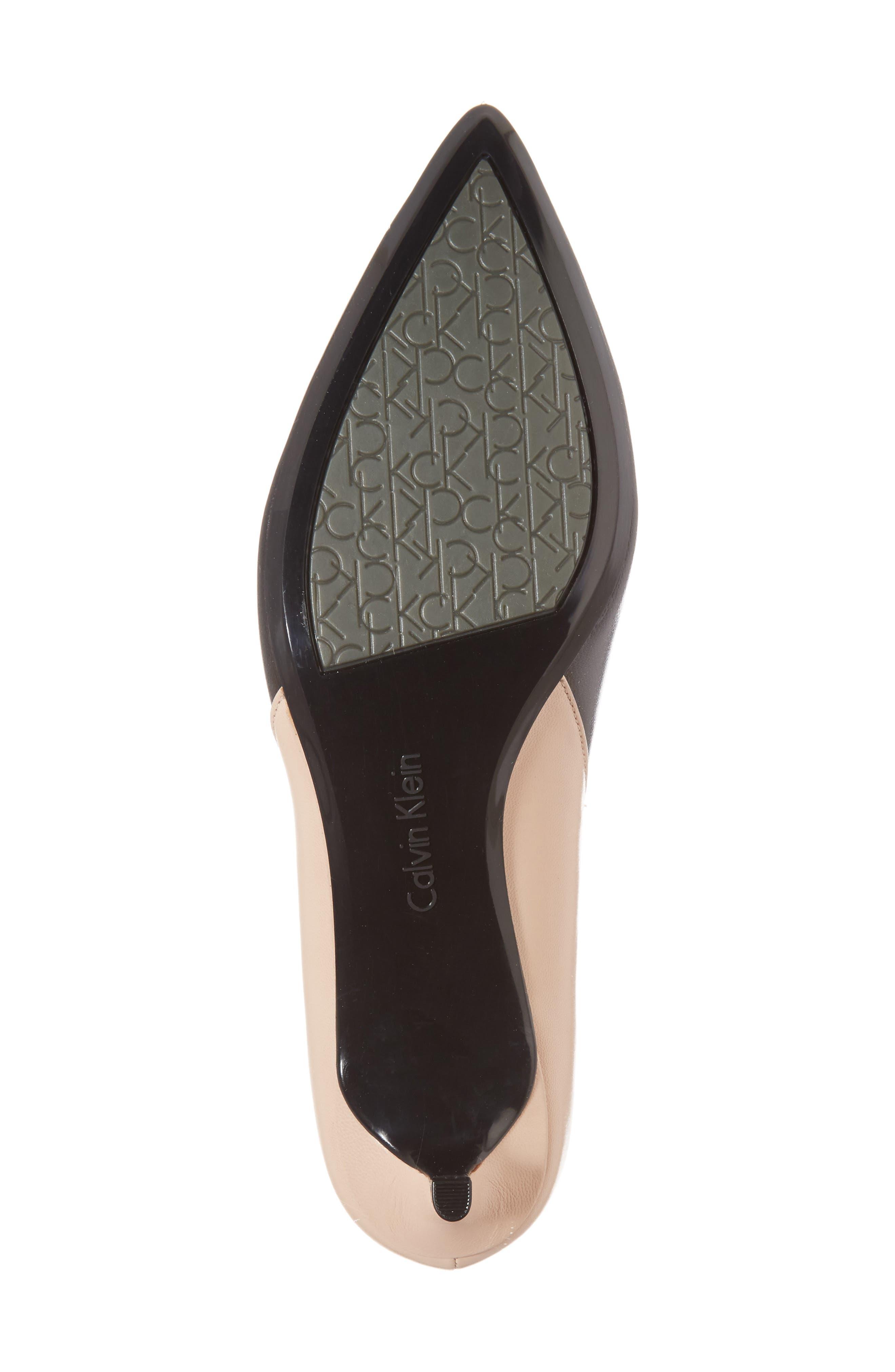 Alternate Image 6  - Calvin Klein Grayce Pointy Toe Pump (Women)