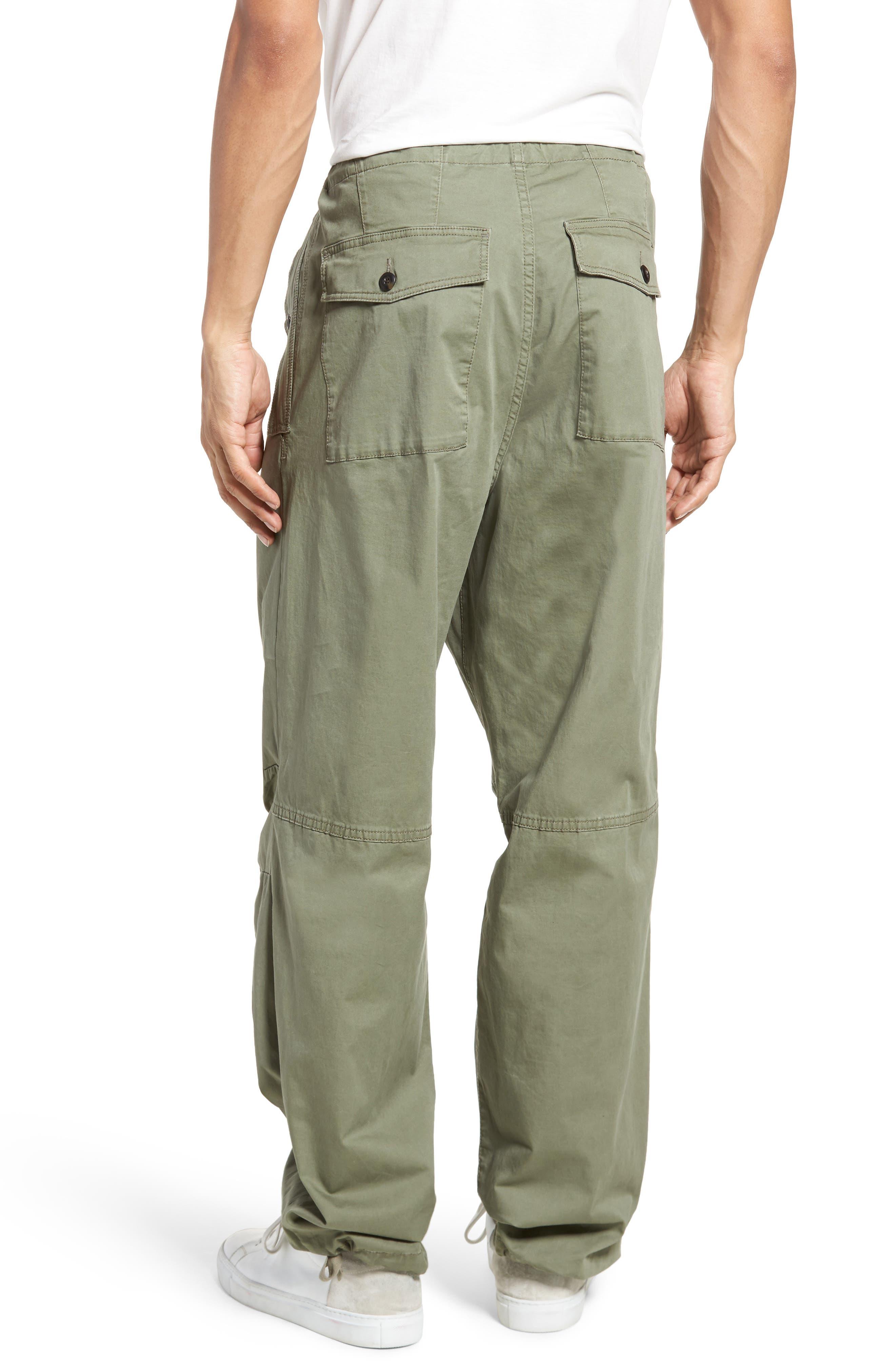 Military Broken Twill Pants,                             Alternate thumbnail 2, color,                             Deep Lichen Green