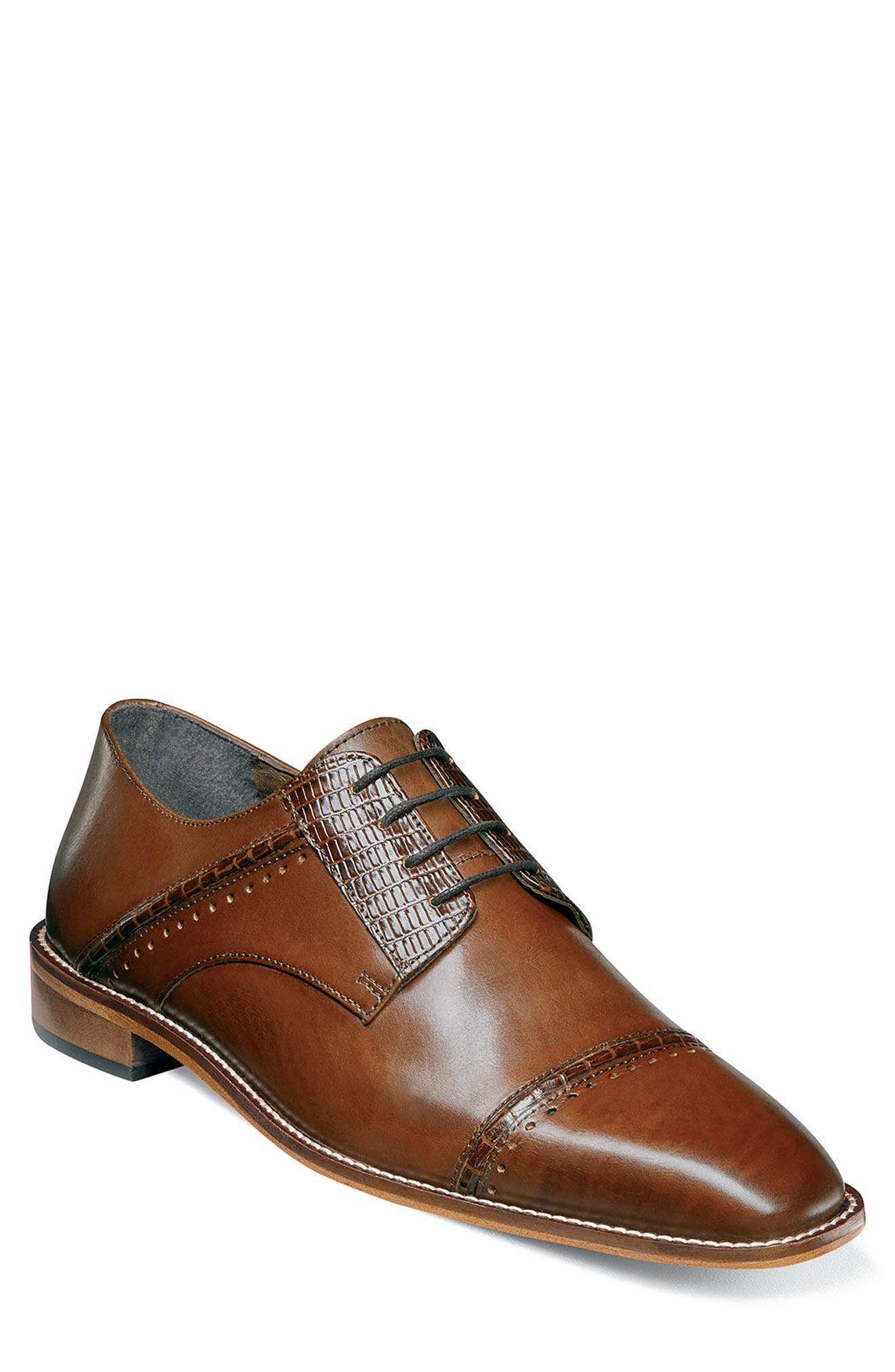Alternate Image 1 Selected - Stacy Adams Ryland Cap Toe Derby (Men)