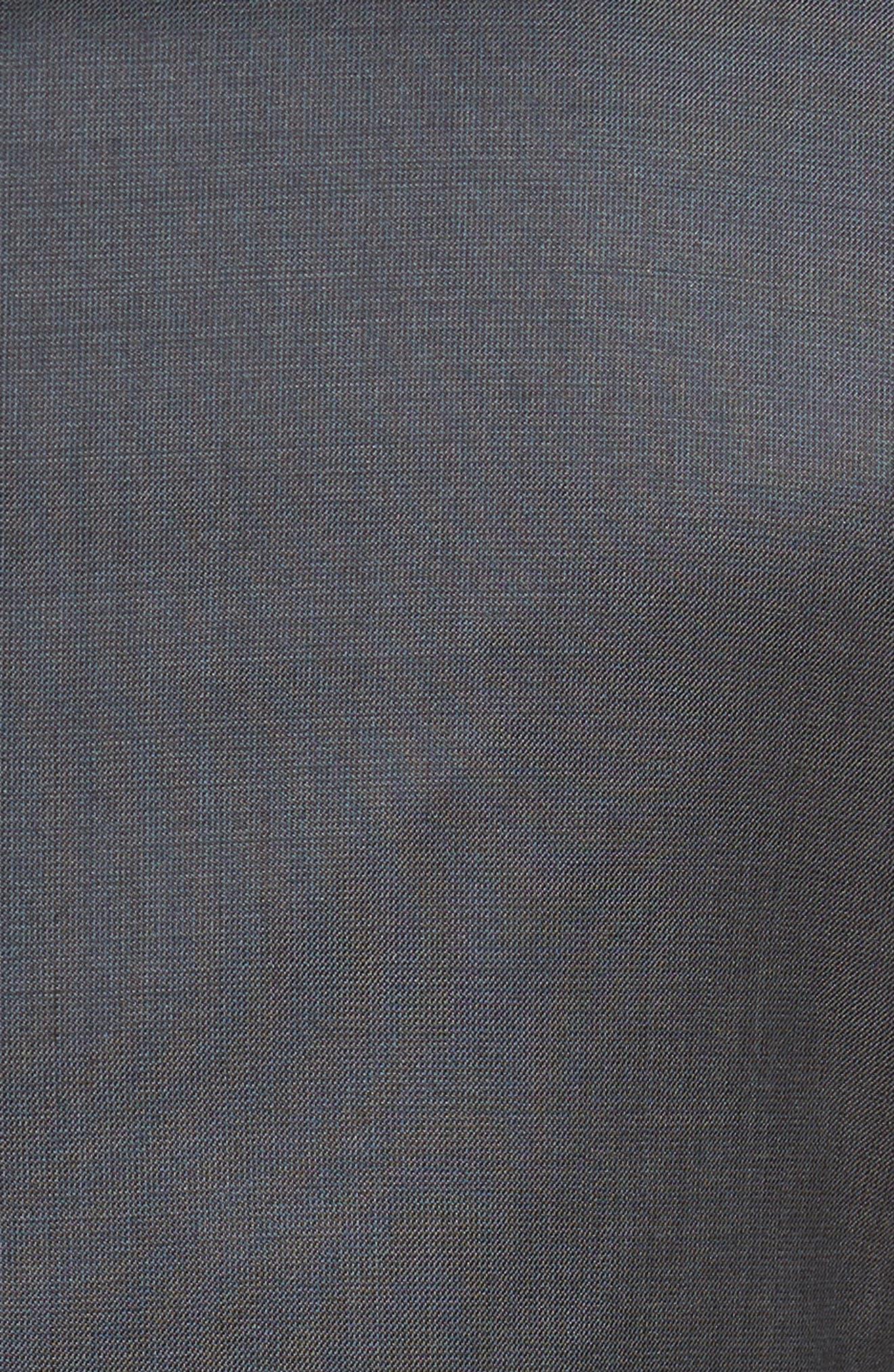 Alternate Image 7  - Nordstrom Men's Shop Extra Trim Fit Solid Wool Suit