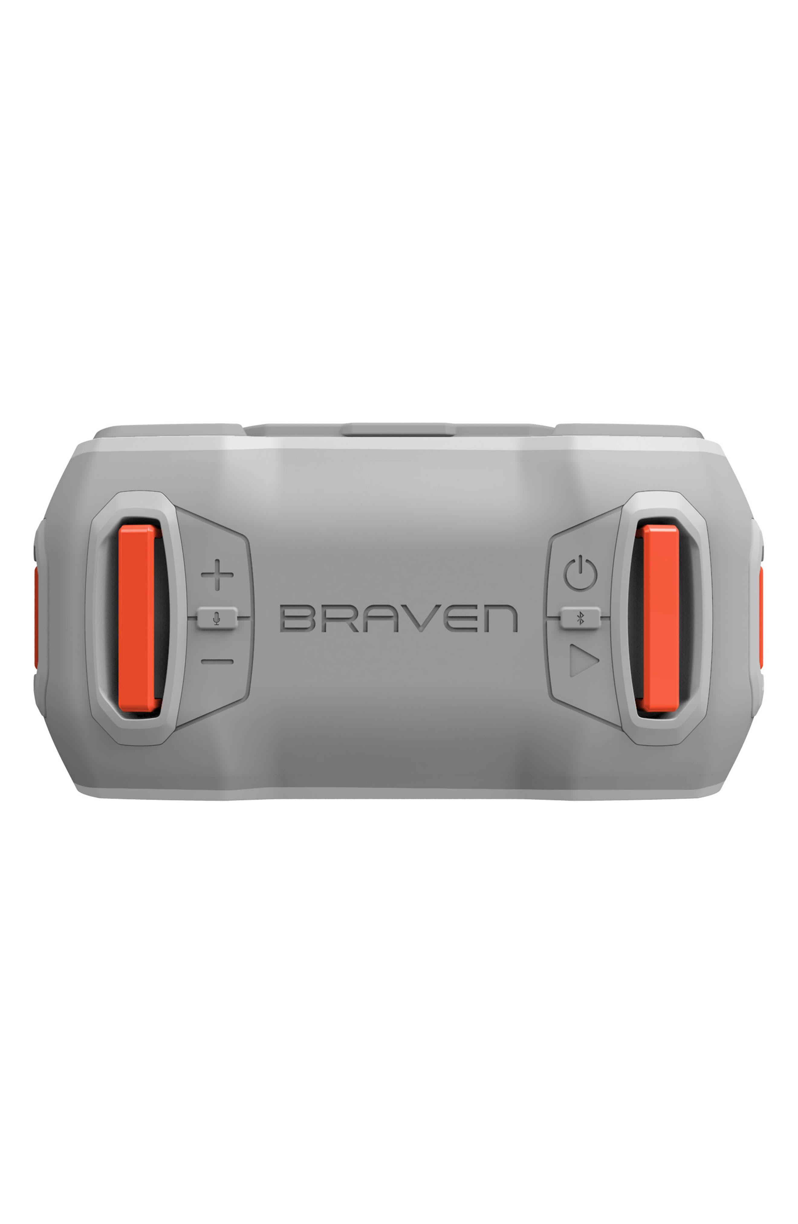 Ready Pro Bluetooth<sup>®</sup> Speaker,                             Alternate thumbnail 8, color,                             Grey/ Orange