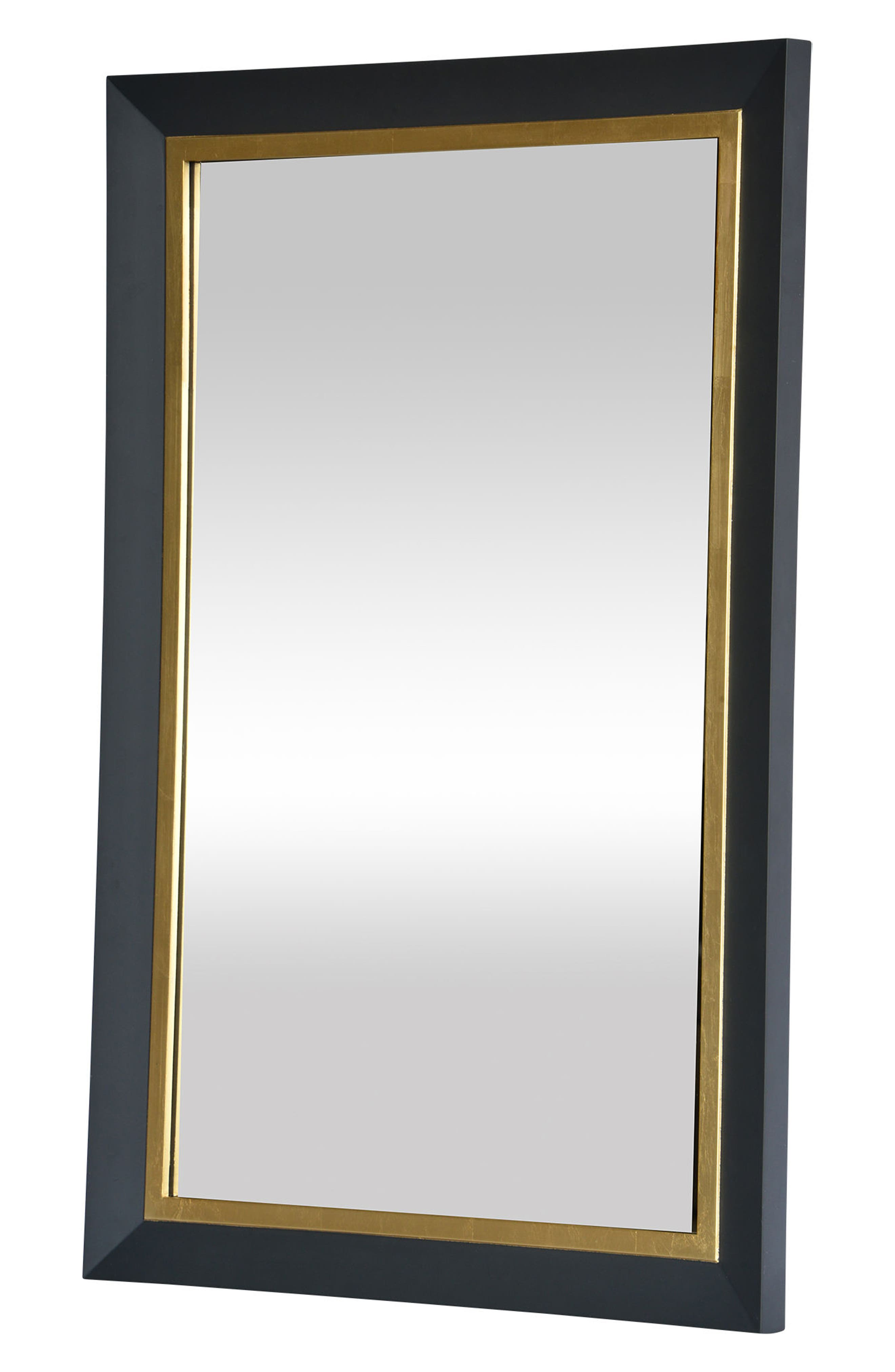 Beillings Mirror,                             Alternate thumbnail 2, color,                             Dark Grey And Antique Gold