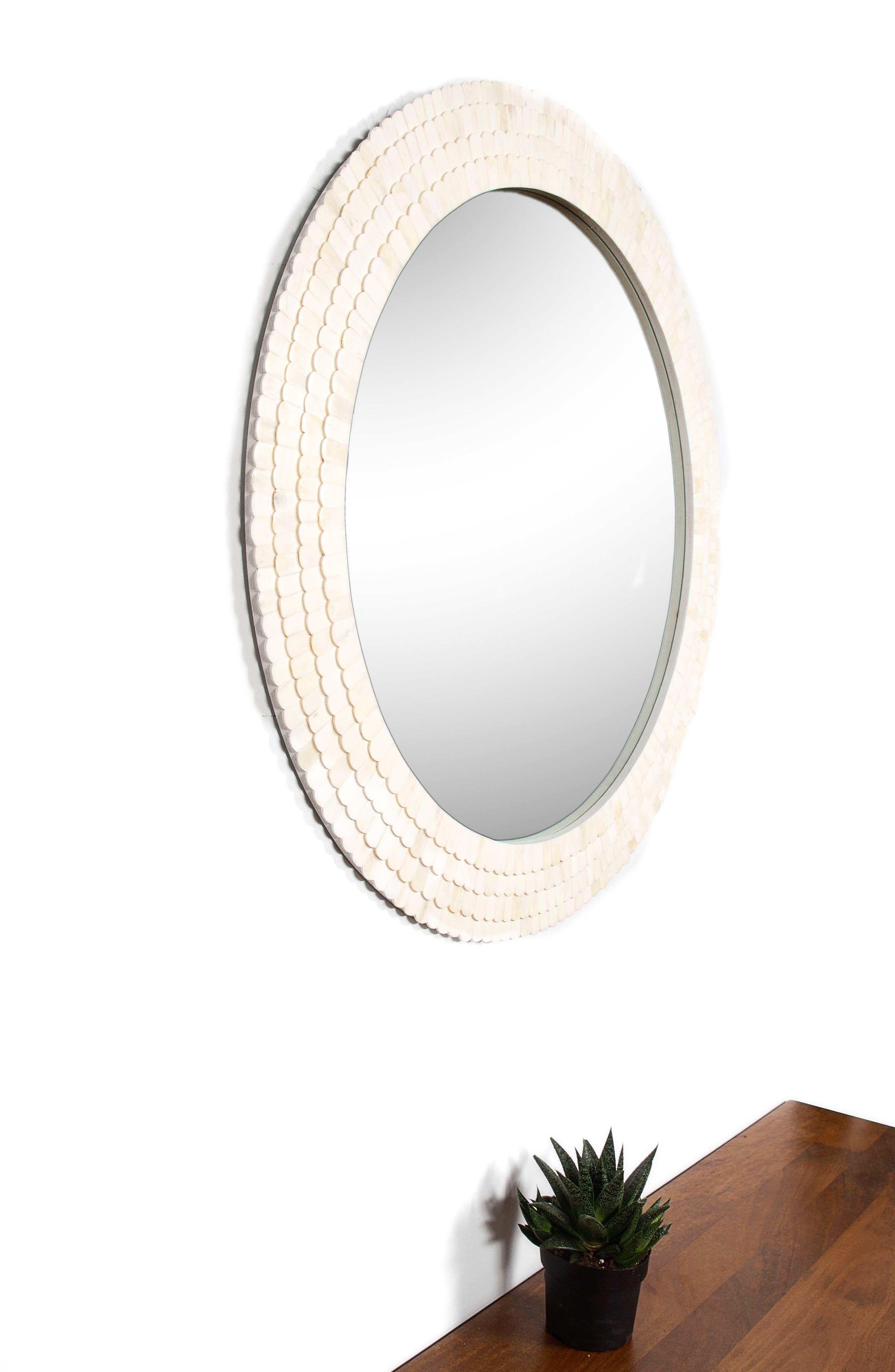 Alternate Image 2  - Renwil Round Mirror