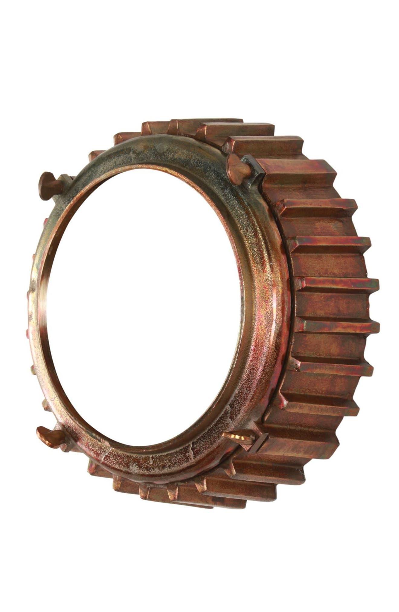 Neston Mirror,                             Alternate thumbnail 6, color,                             Copper/ Cobalt Blue/ Brass