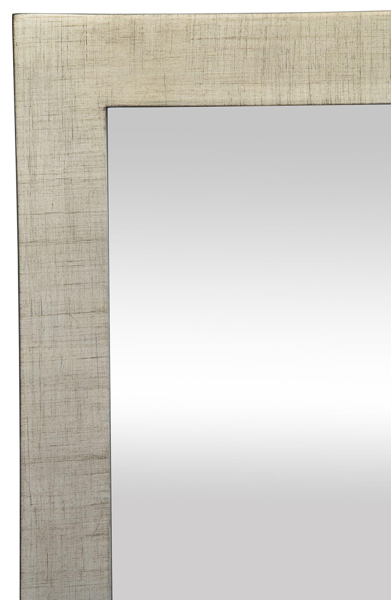 Emery Mirror,                             Alternate thumbnail 4, color,                             Silver Leaf