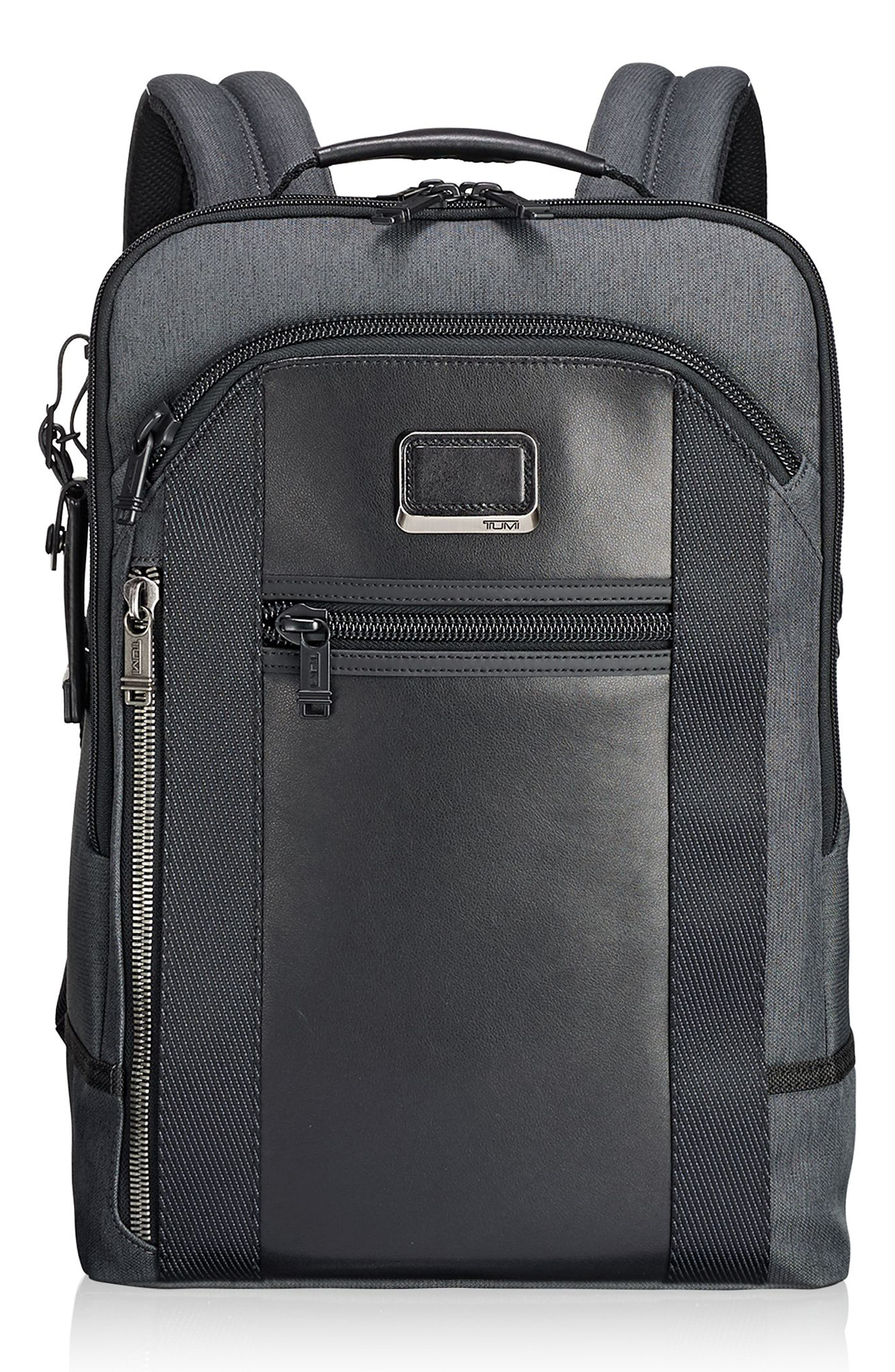 Alpha Bravo - Davis Backpack,                             Main thumbnail 1, color,                             Anthracite
