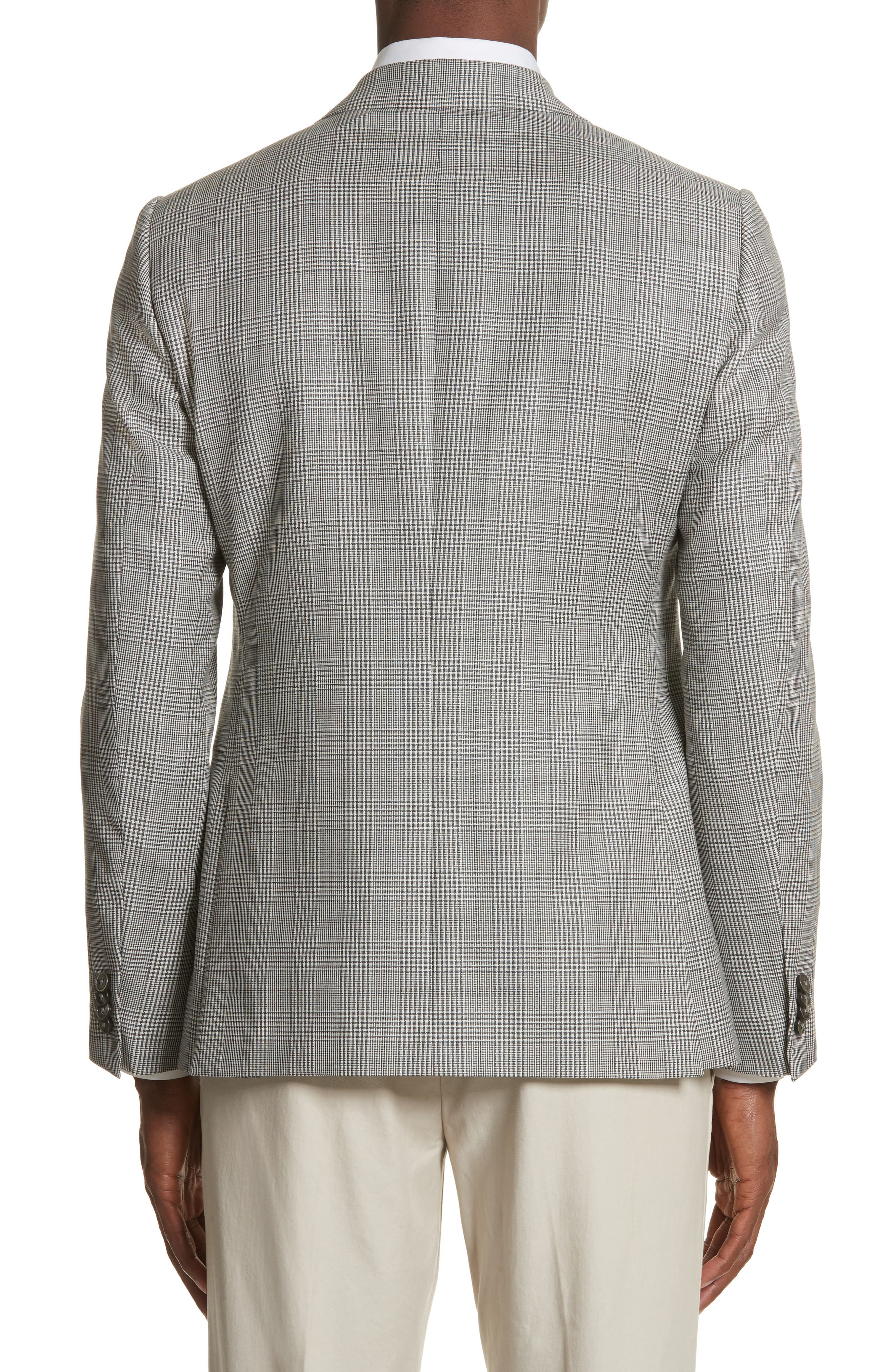 Alternate Image 2  - Z Zegna Classic Fit Plaid Wool Sport Coat