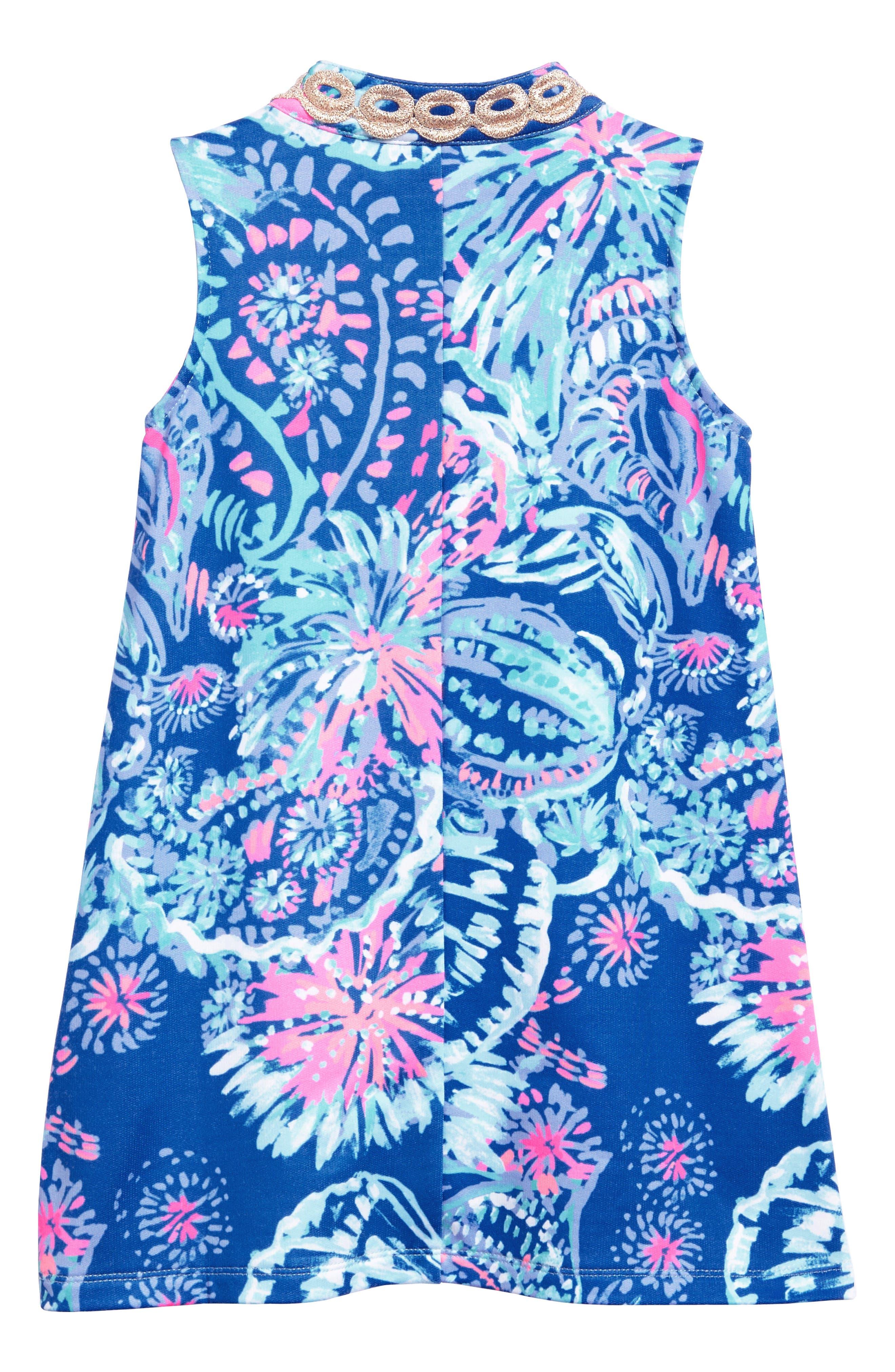 Mini Jane Shift Dress,                             Alternate thumbnail 2, color,                             Deep Indigo Gypsea Girl