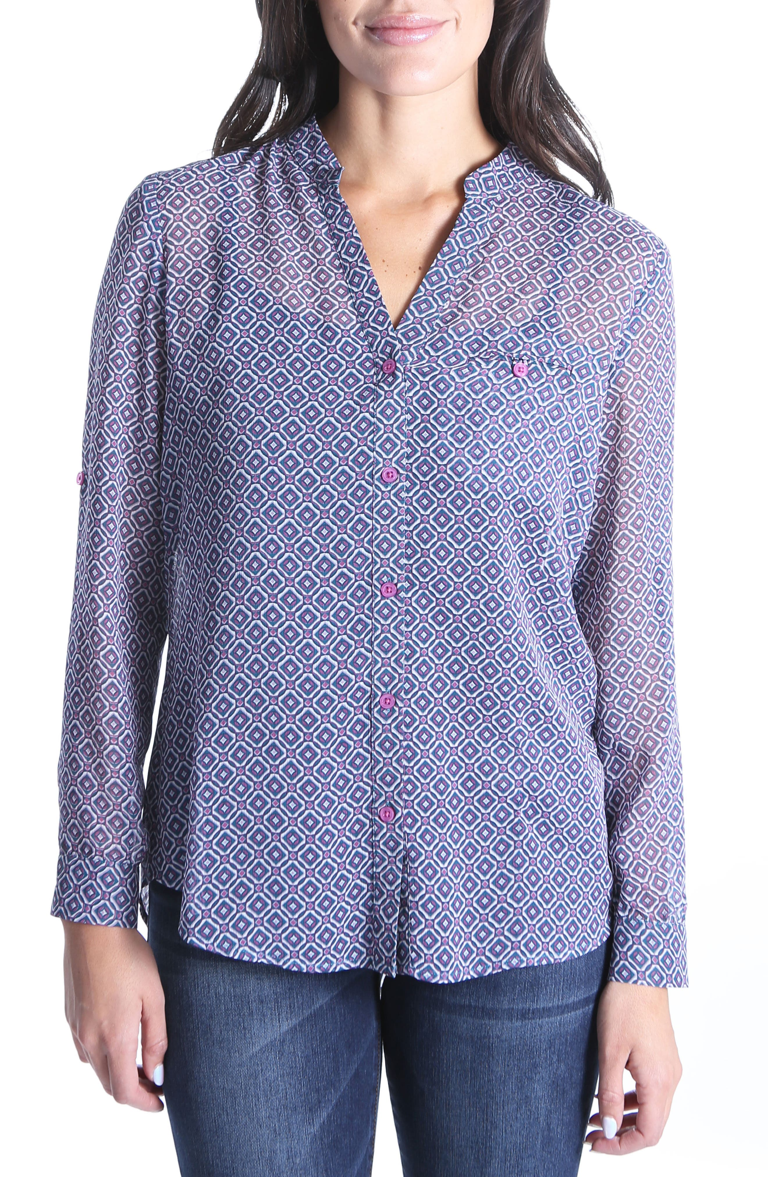 Jasmine Top,                         Main,                         color, Melrose Pink