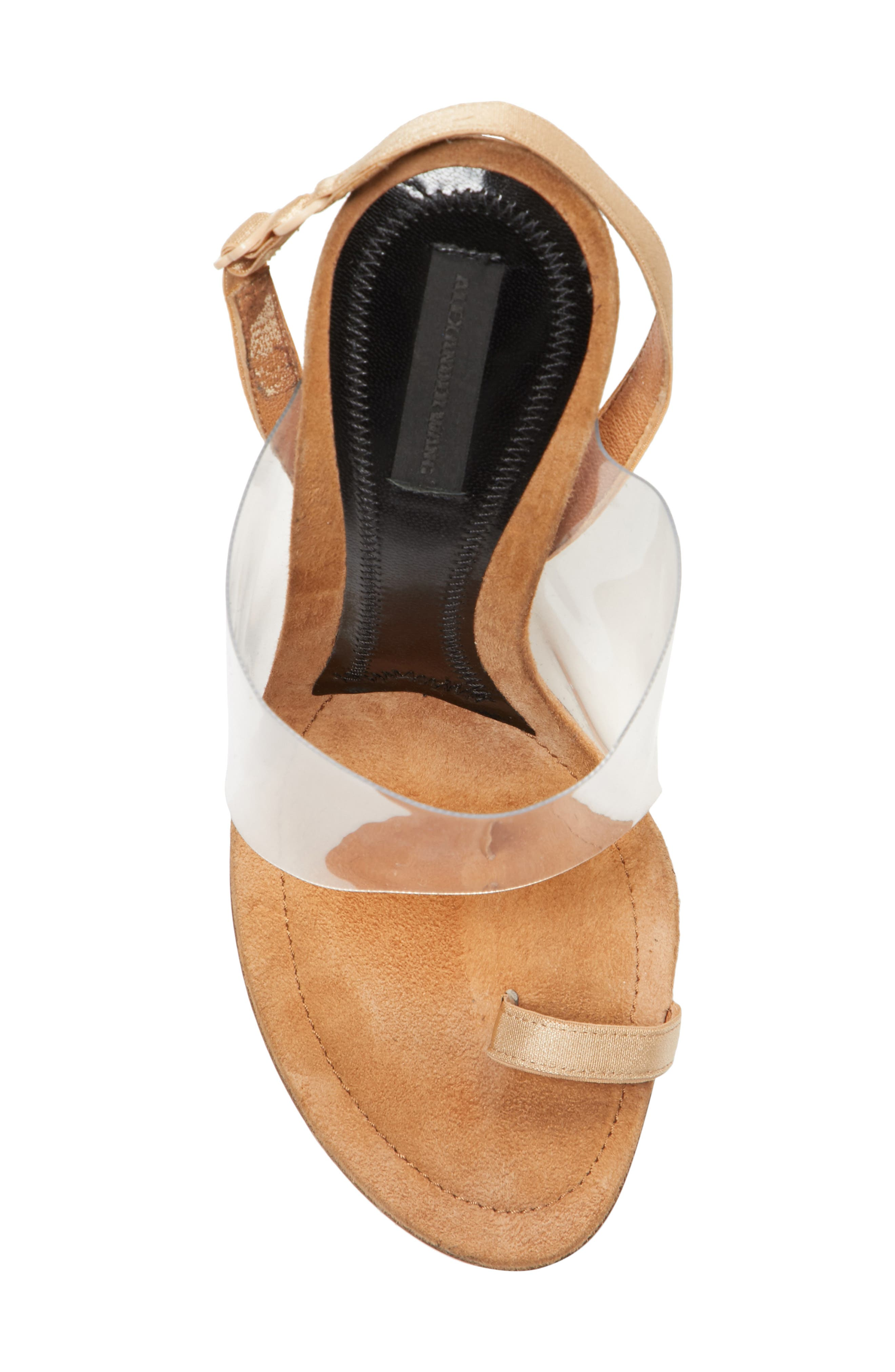 Kaia Sandal,                             Alternate thumbnail 5, color,                             Nude