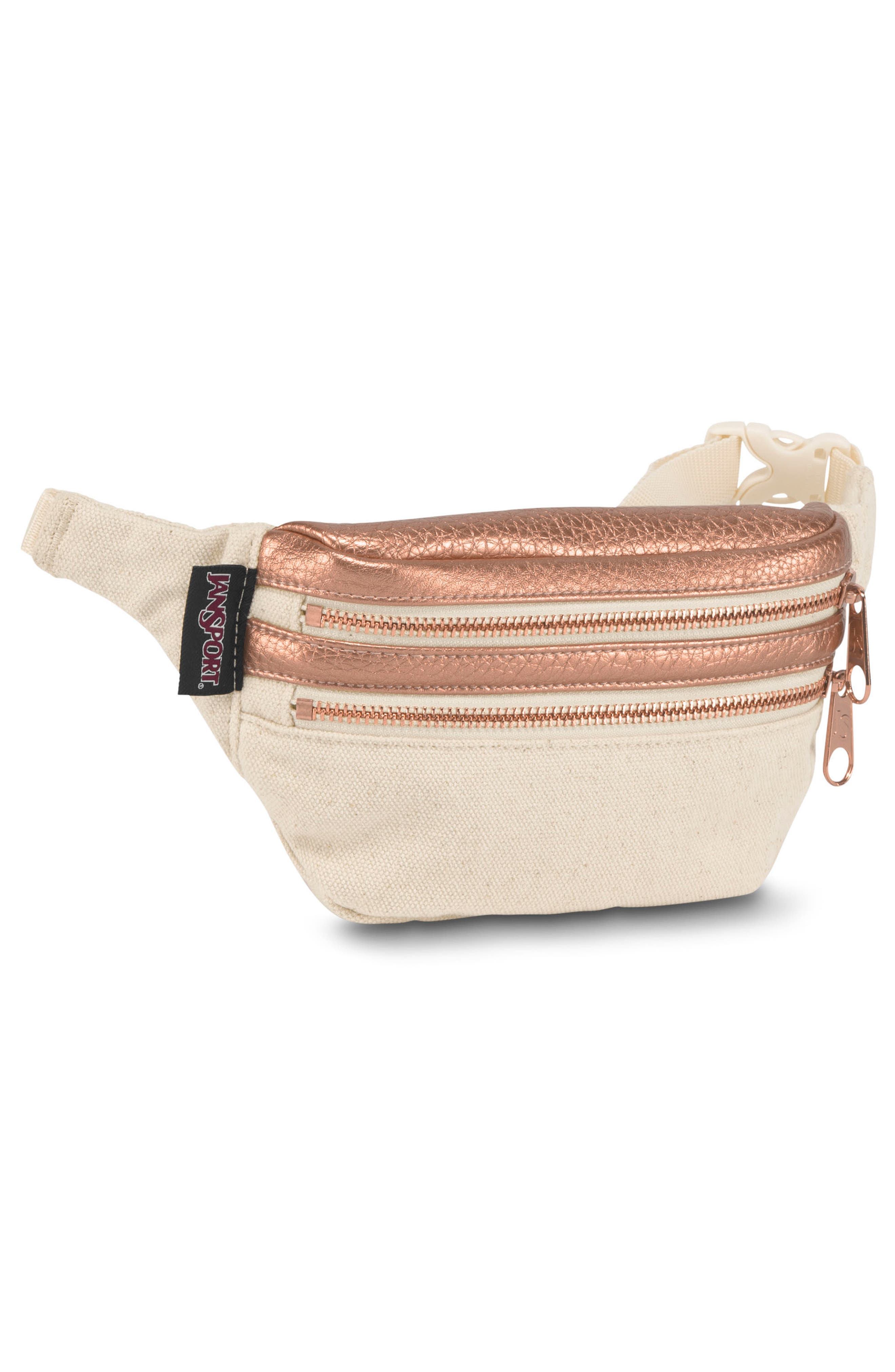 Hippyland Fanny Pack,                             Alternate thumbnail 4, color,                             Rose Gold