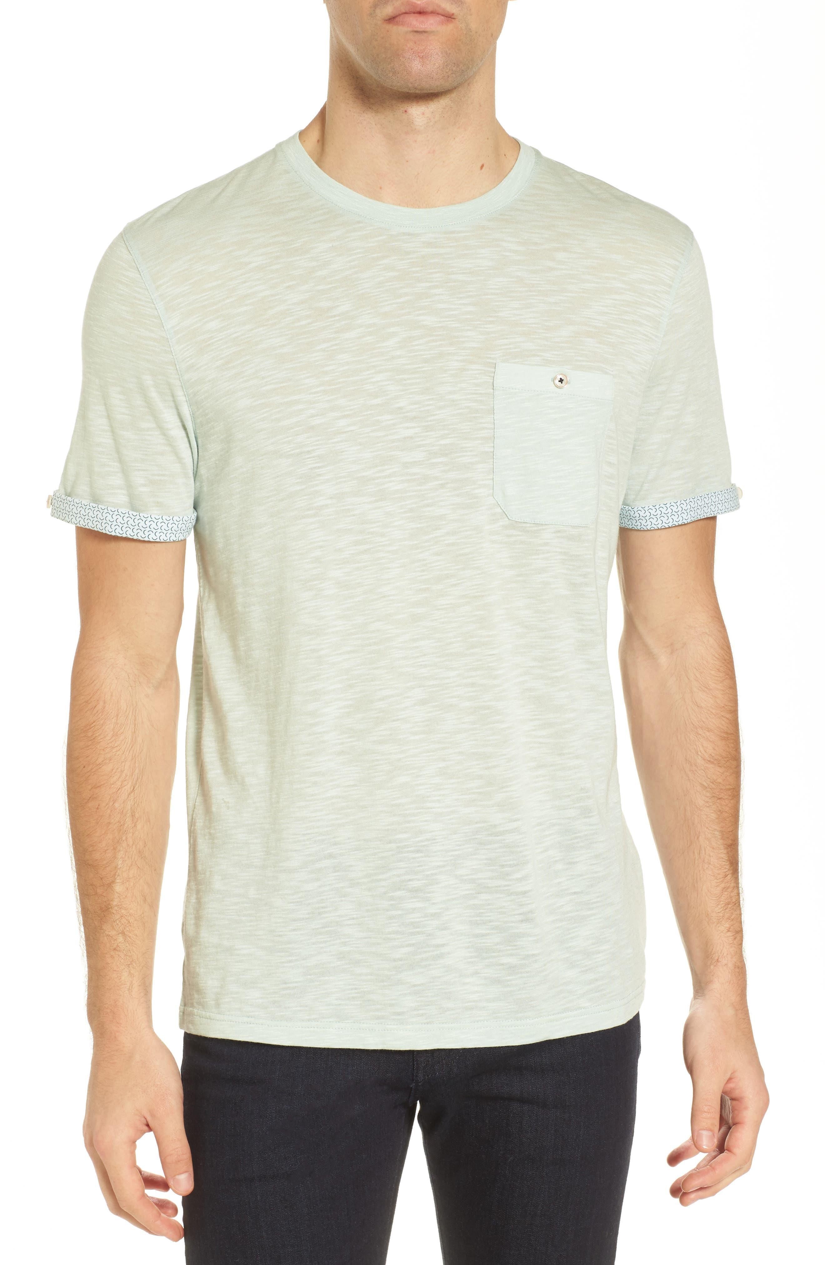 Alternate Image 1 Selected - Ted Baker London Taxi Slub Cotton Pocket T-Shirt