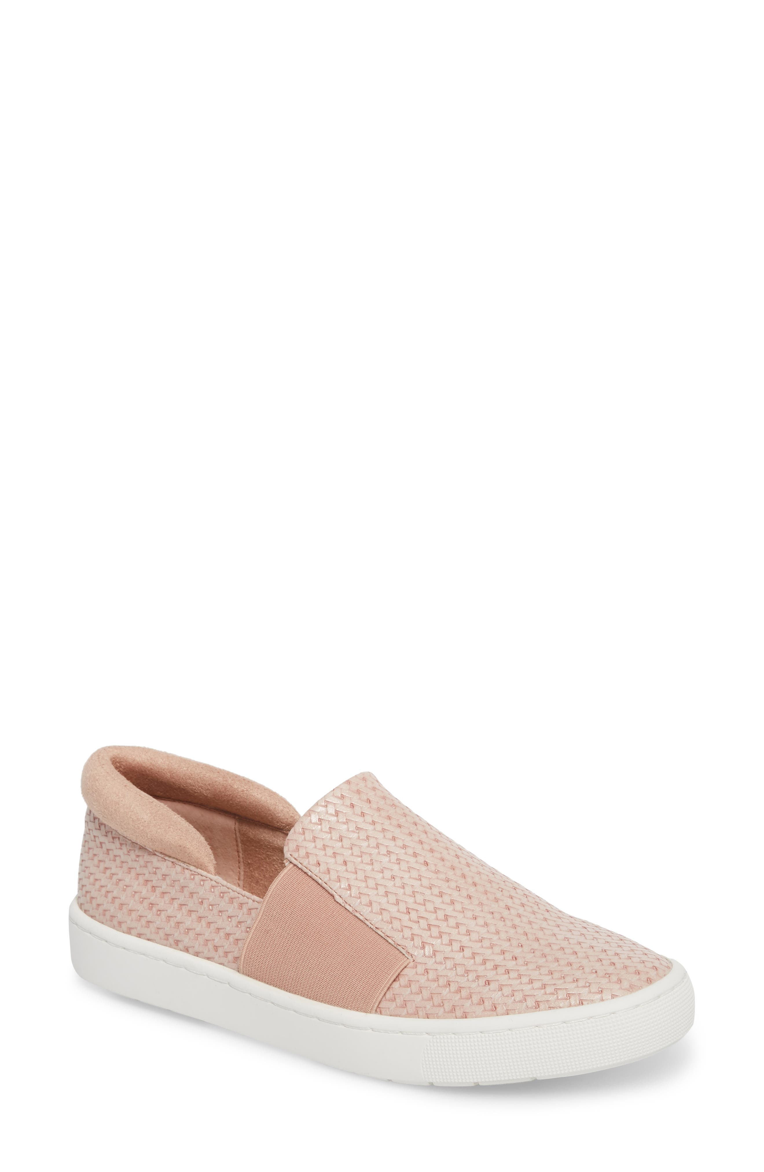 Ramp II Slip-On Sneaker,                             Main thumbnail 1, color,                             Blush Fabric