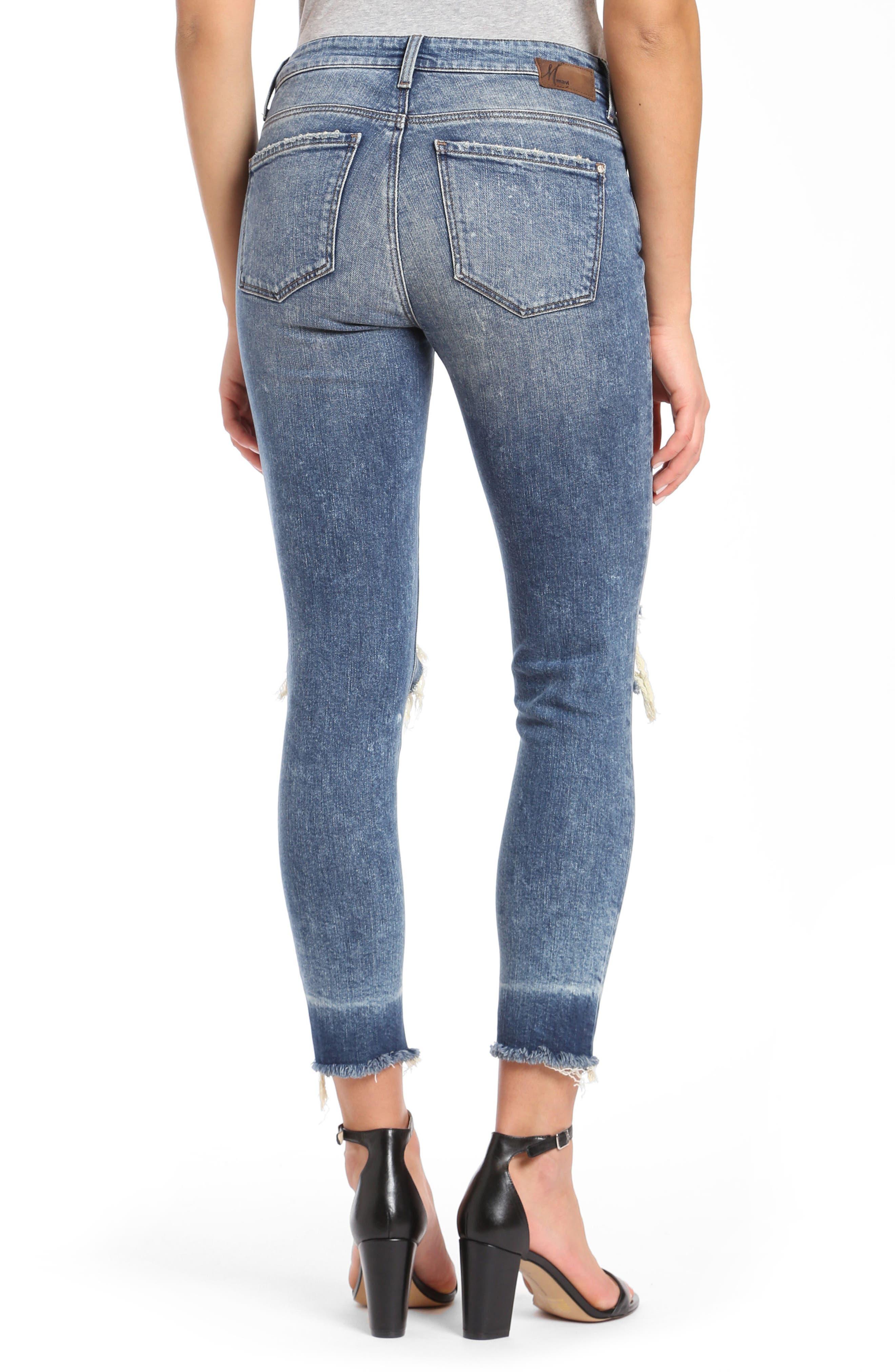Tess Super Skinny Jeans,                             Alternate thumbnail 2, color,                             Ripped Vintage