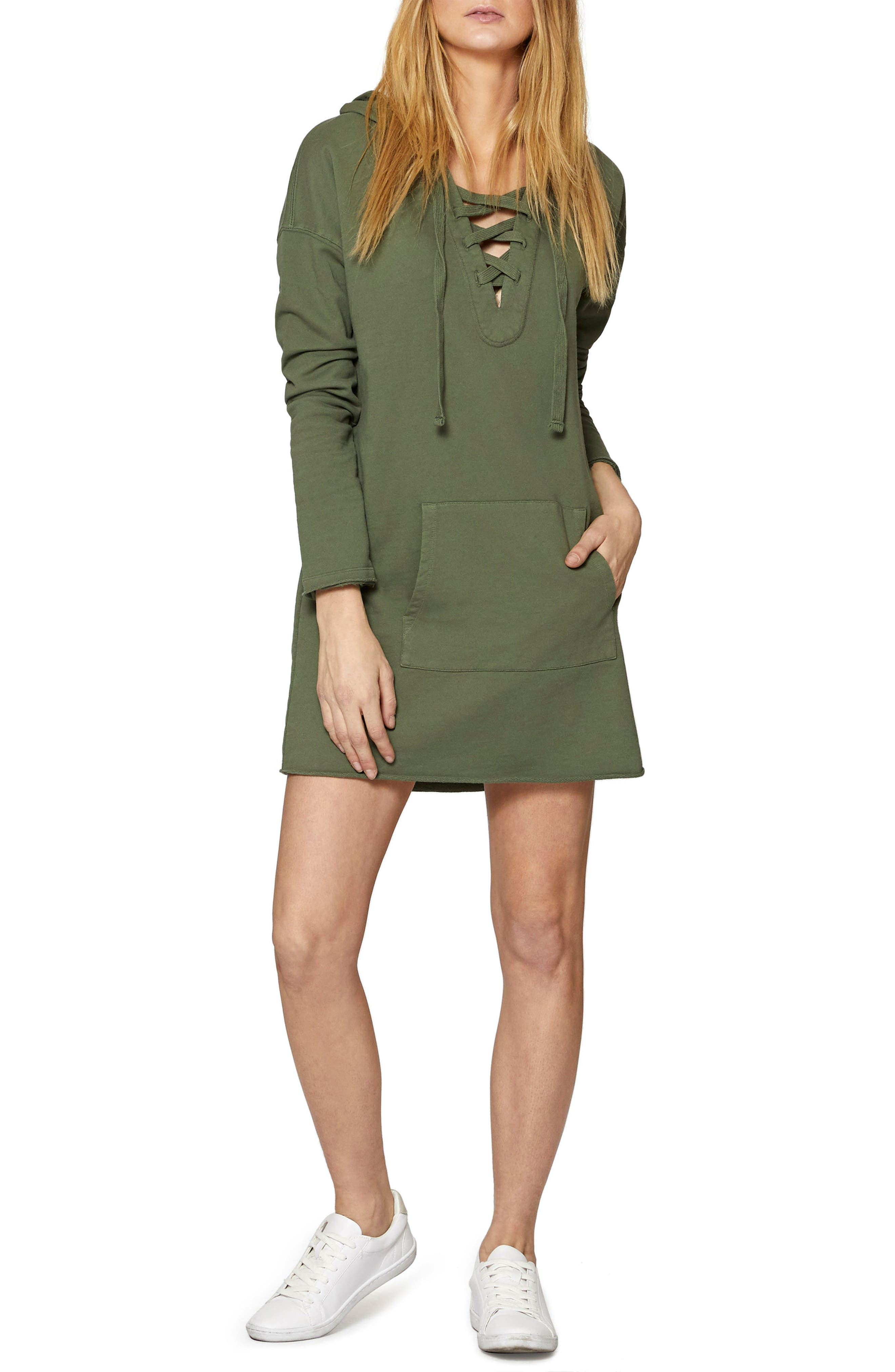 Lower East Hoodie Tunic,                             Main thumbnail 1, color,                             Cadet