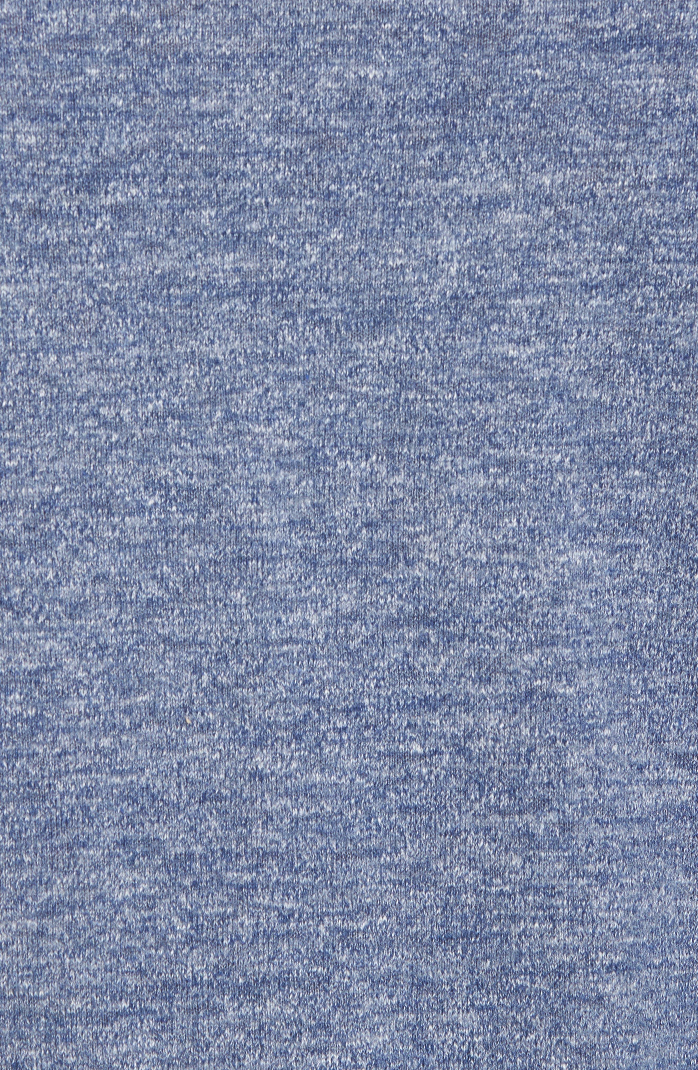 Arbors Cotton V-Neck Sweater,                             Alternate thumbnail 5, color,                             Riviera