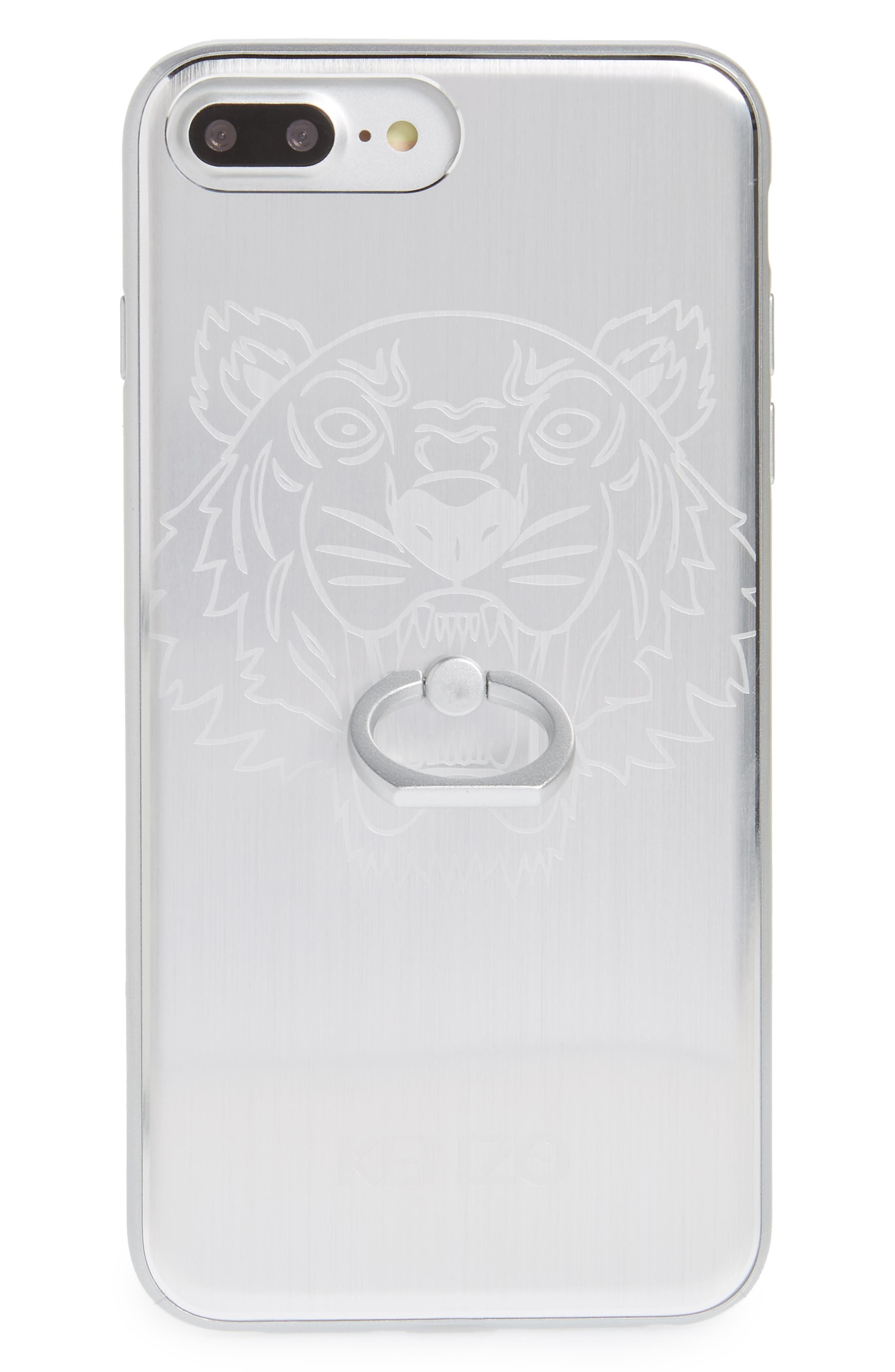 Main Image - KENZO Tiger Ring Aluminum iPhone 7 Plus Case