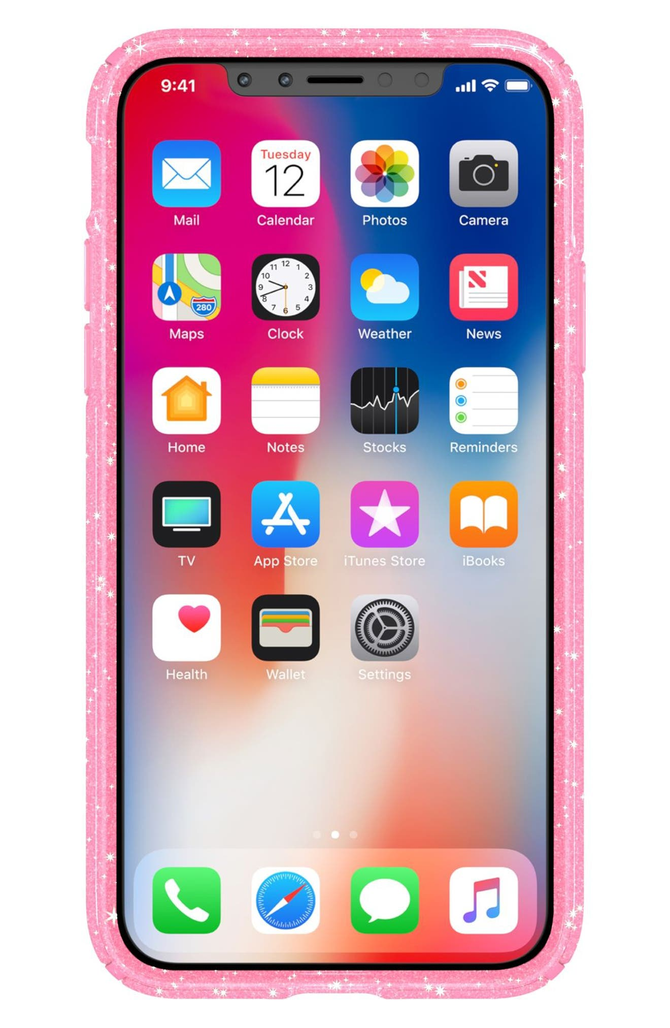 Alternate Image 8  - Speck Transparent iPhone X Case