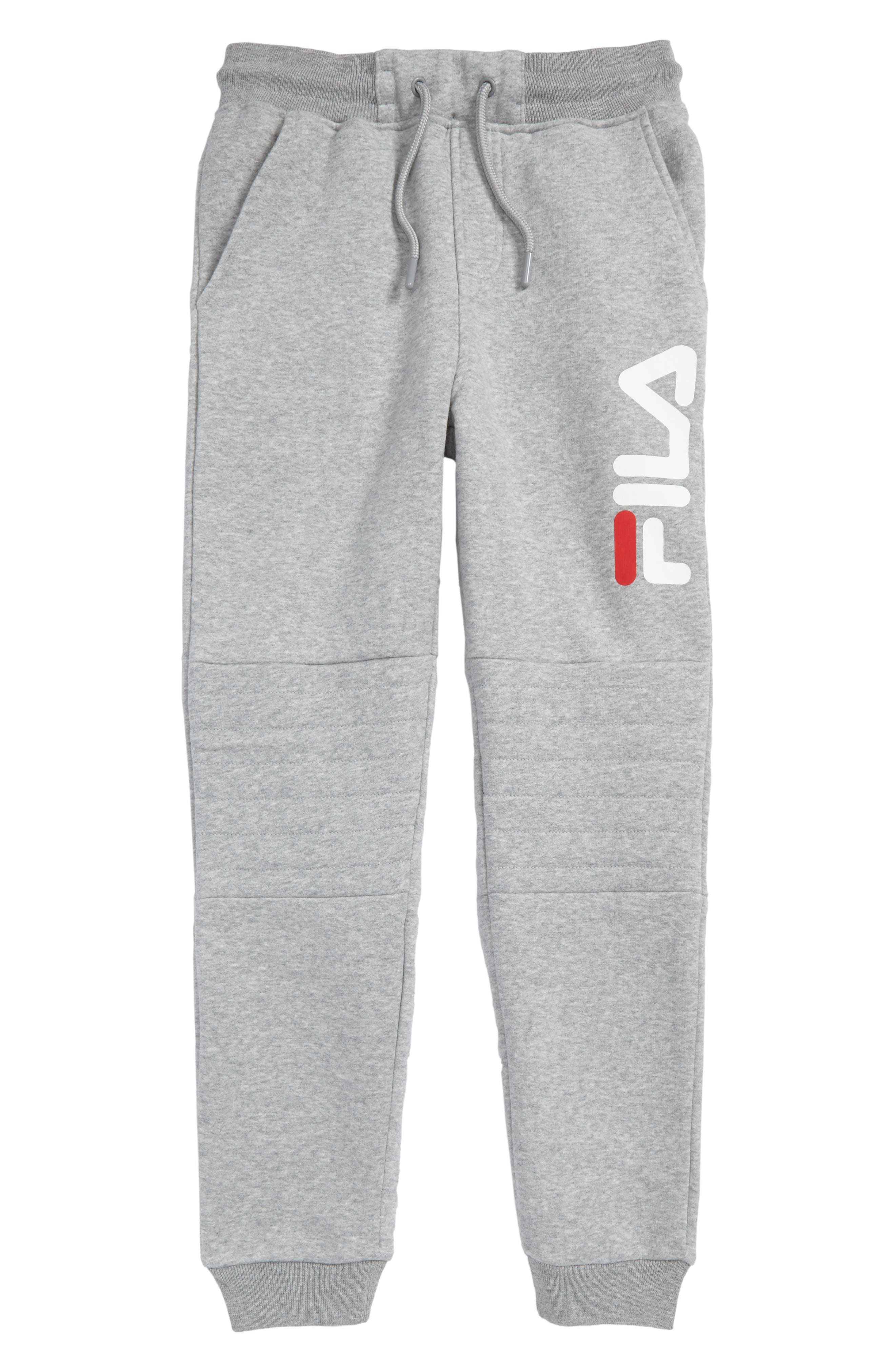Logo Sweatpants,                         Main,                         color, Grey Heather