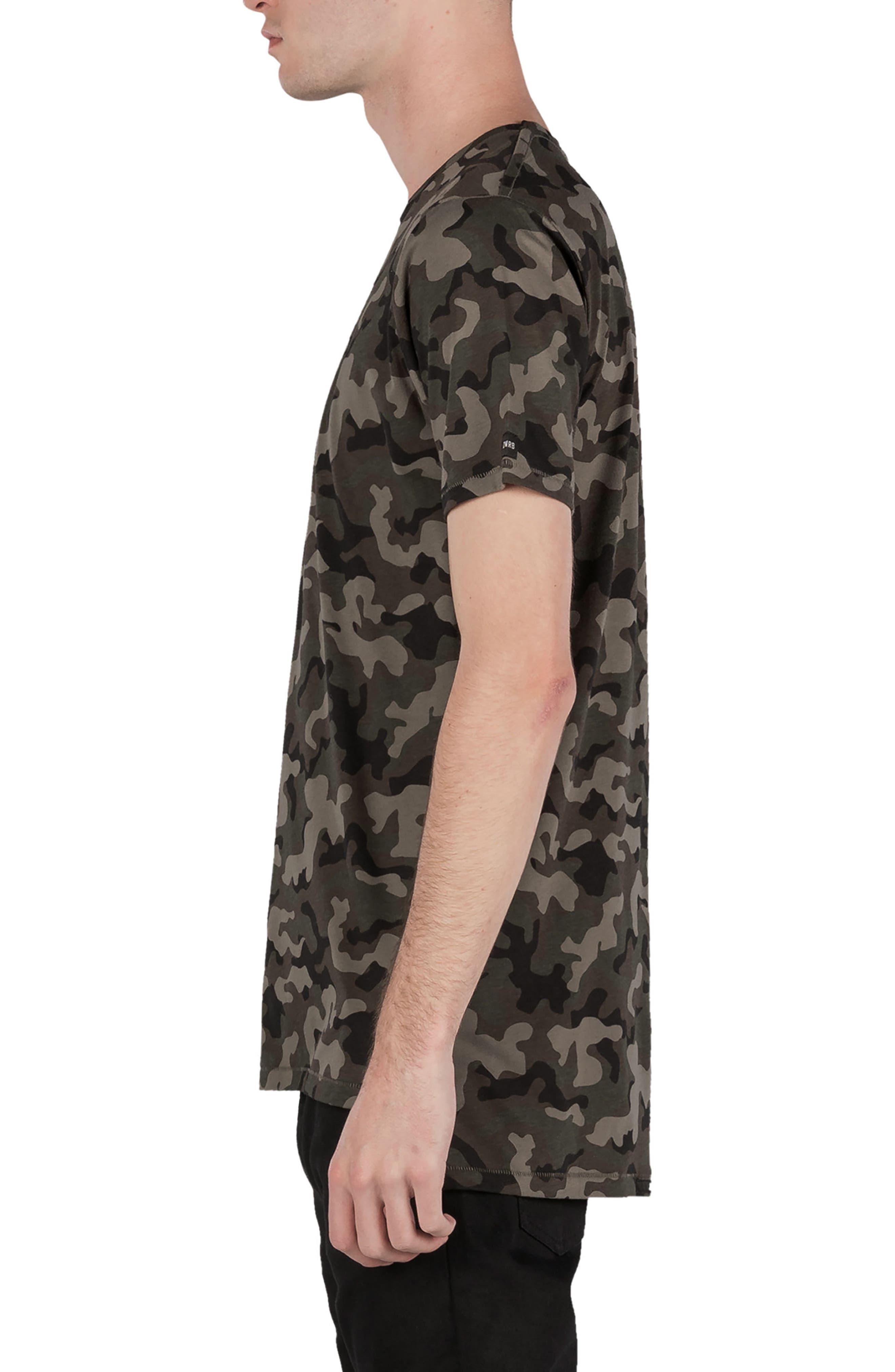 Flintlock Camo T-Shirt,                             Alternate thumbnail 4, color,                             Dark Camo