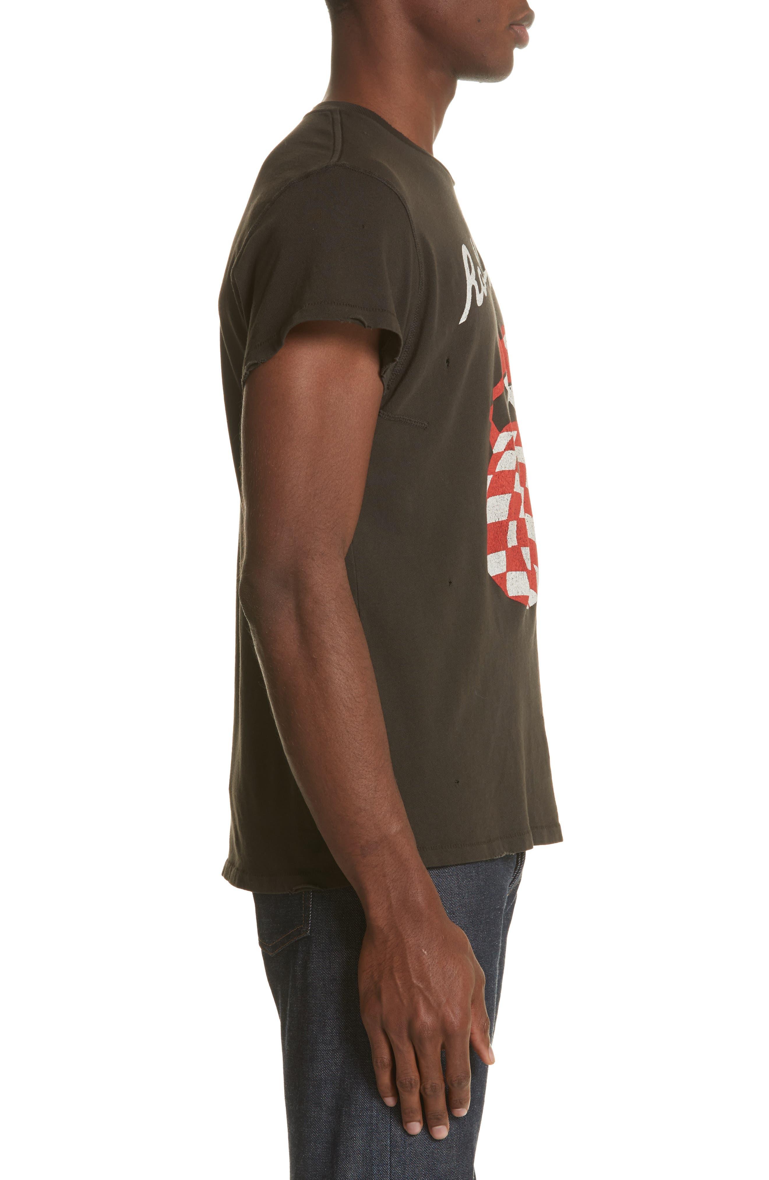 Alternate Image 3  - MadeWorn Rolling Stones Checker Graphic T-Shirt
