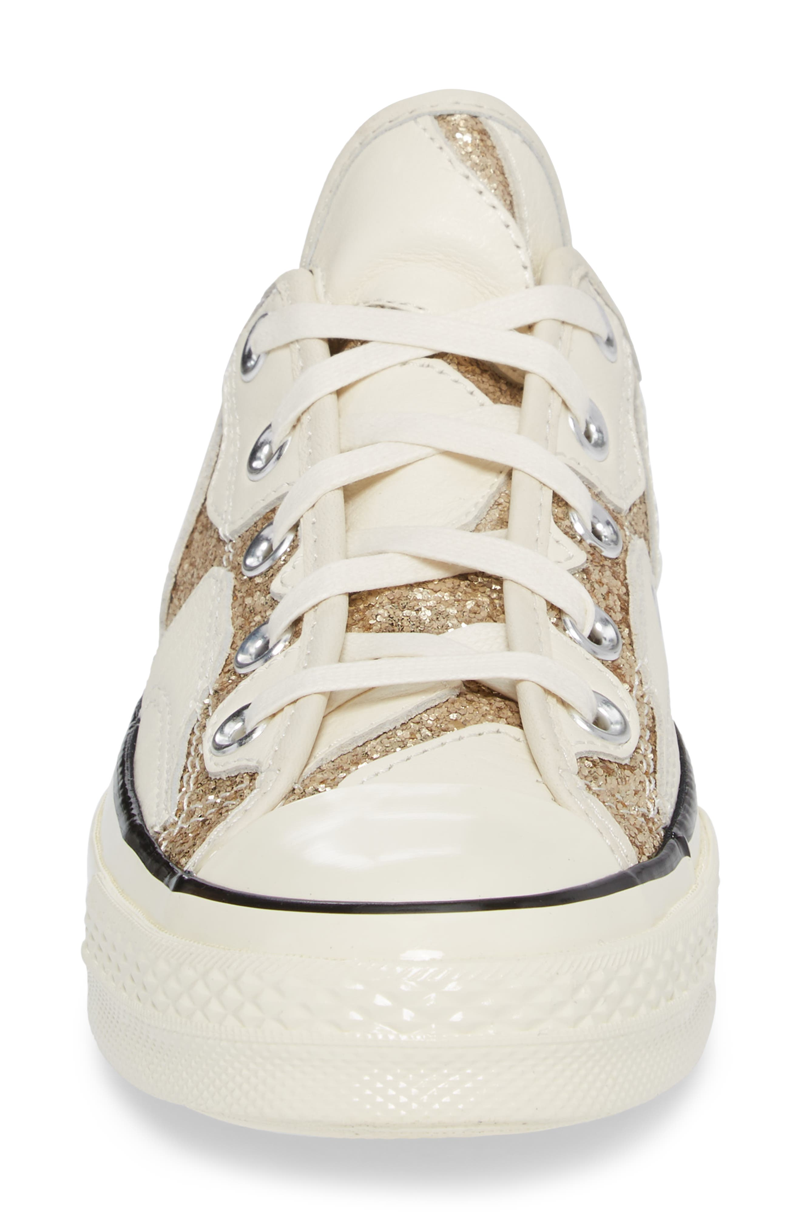 Alternate Image 4  - Converse Chuck Taylor® All Star® Animal Glitter Low Top Sneaker (Women)